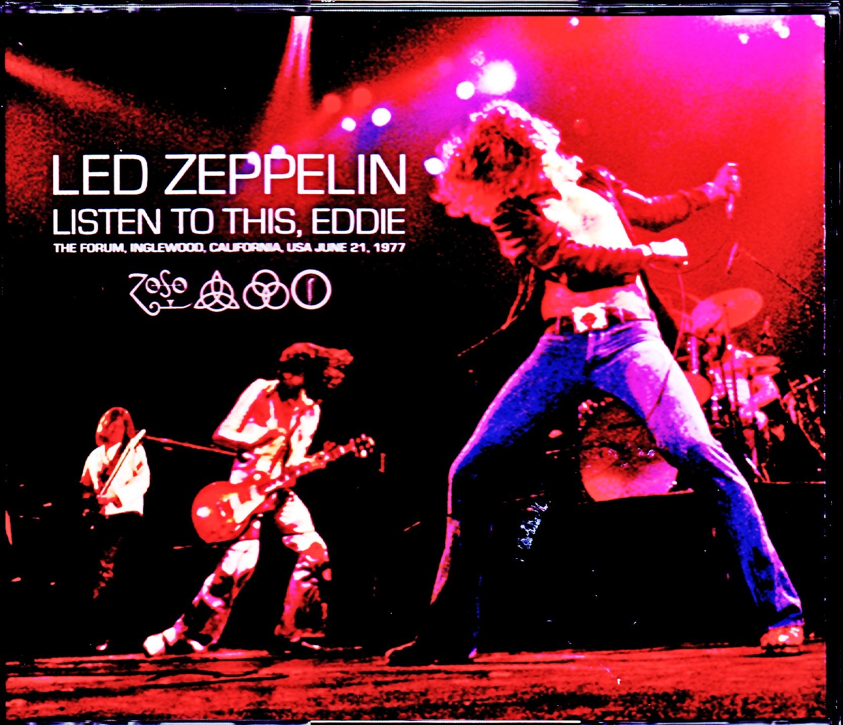 Led Zeppelin レッド・ツェッペリン/CA,USA 6.21.1977 Compensation Source 3Ver