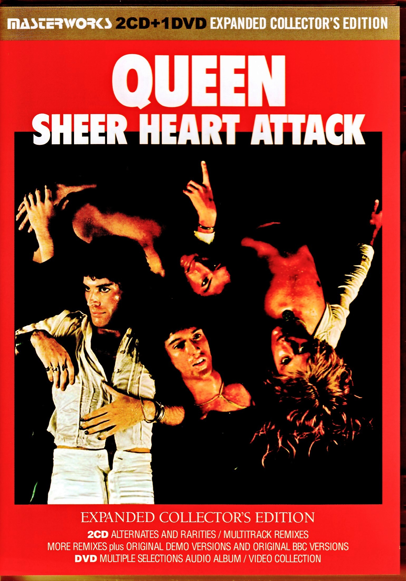 Queen クィーン/Sheer Heart Attack Expanded Collector's Edition