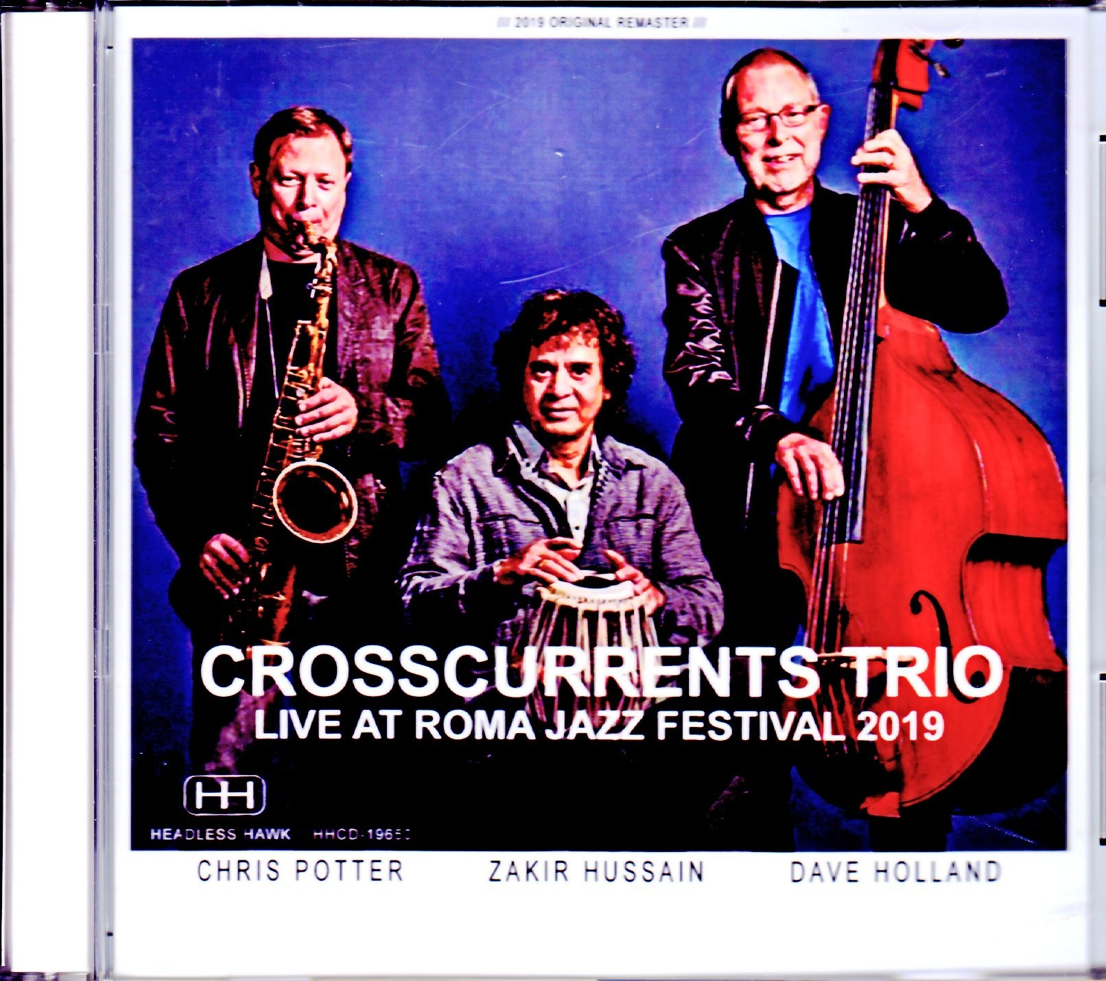 Crosscurrents Trio Chris Potter,Zakir Hussain,Dave Holland クリス・ポッター/Italy 2019
