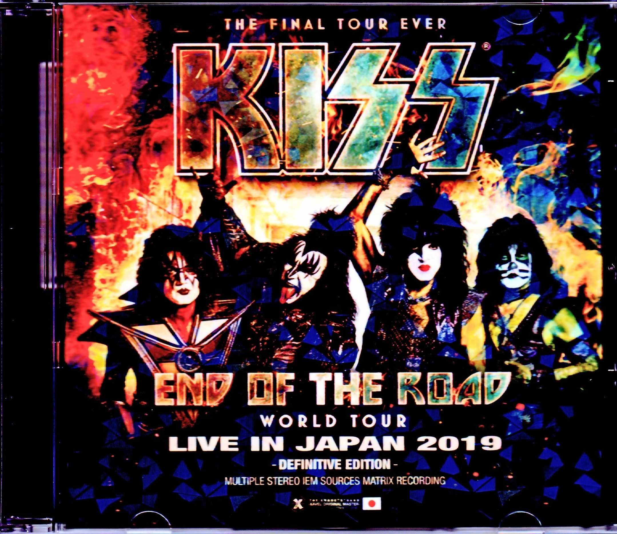 Kiss キッス/Iwate,Japan 2019 IEM Matrix Version
