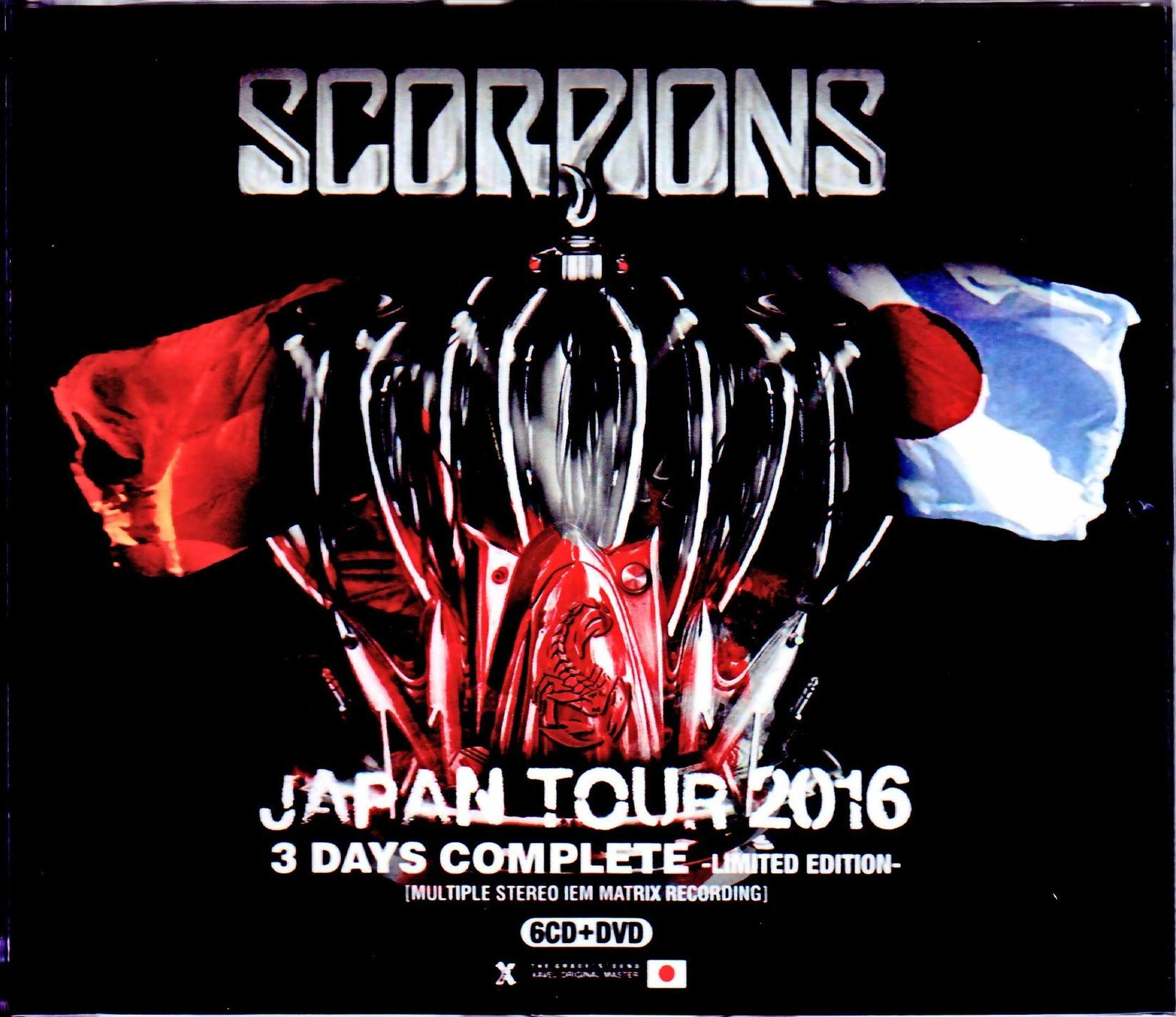 Scorpions スコーピオンズ/Japan Tour 2016 3 Days Complete IEM Matrix & more