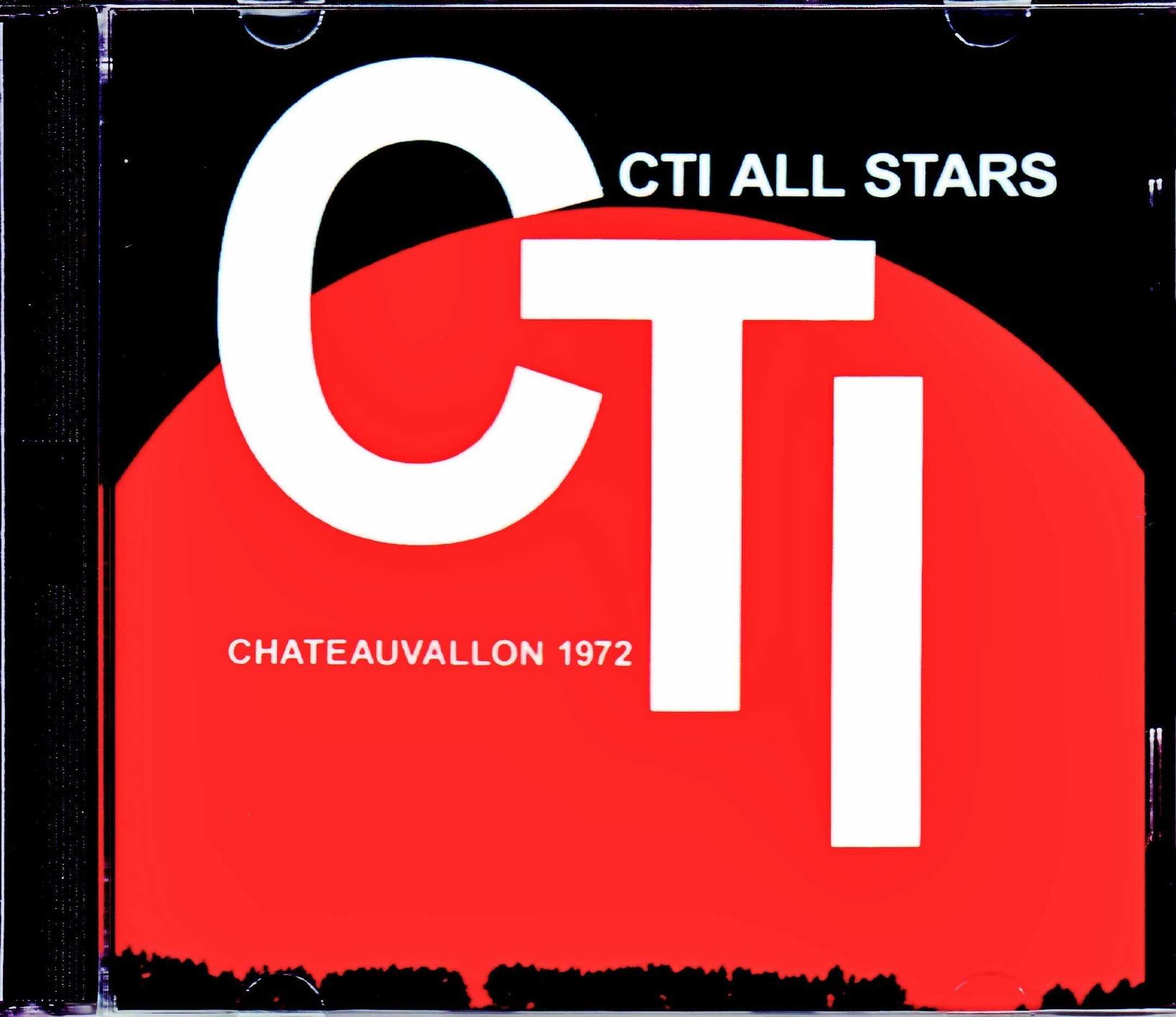 CTI All Stars Freddie Hubbard,Grover Washington Jr.,Stanley Turrentine,Bob James,Jack DeJonette/France 1972