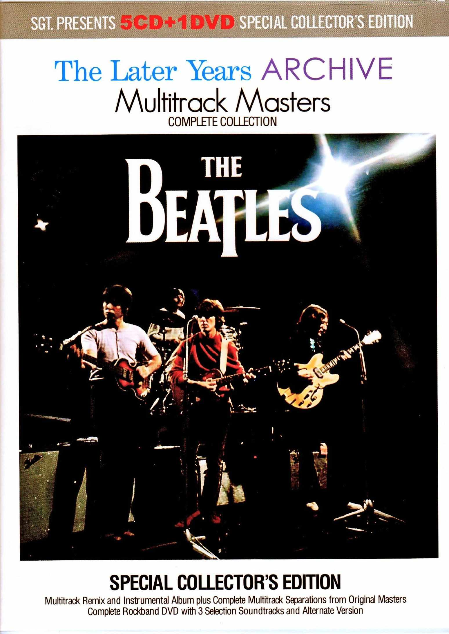 Beatles ビートルズ/The Later Years Archive Multitrack Masters Complete Collection