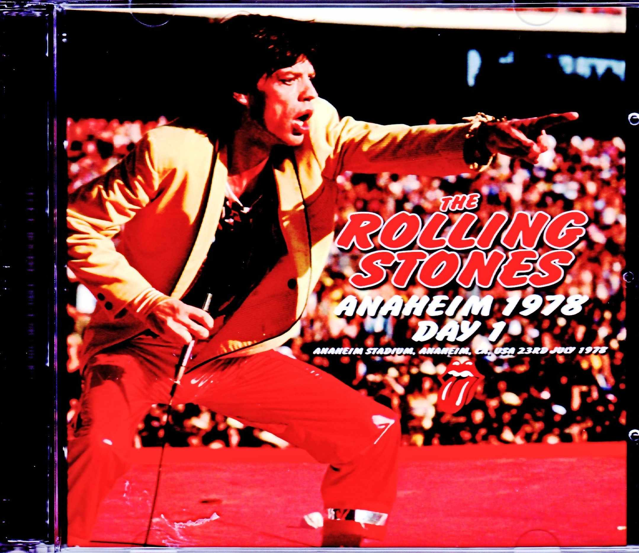 Rolling Stones ローリング・ストーンズ/NY,USA 7.23.1978 Upgrade