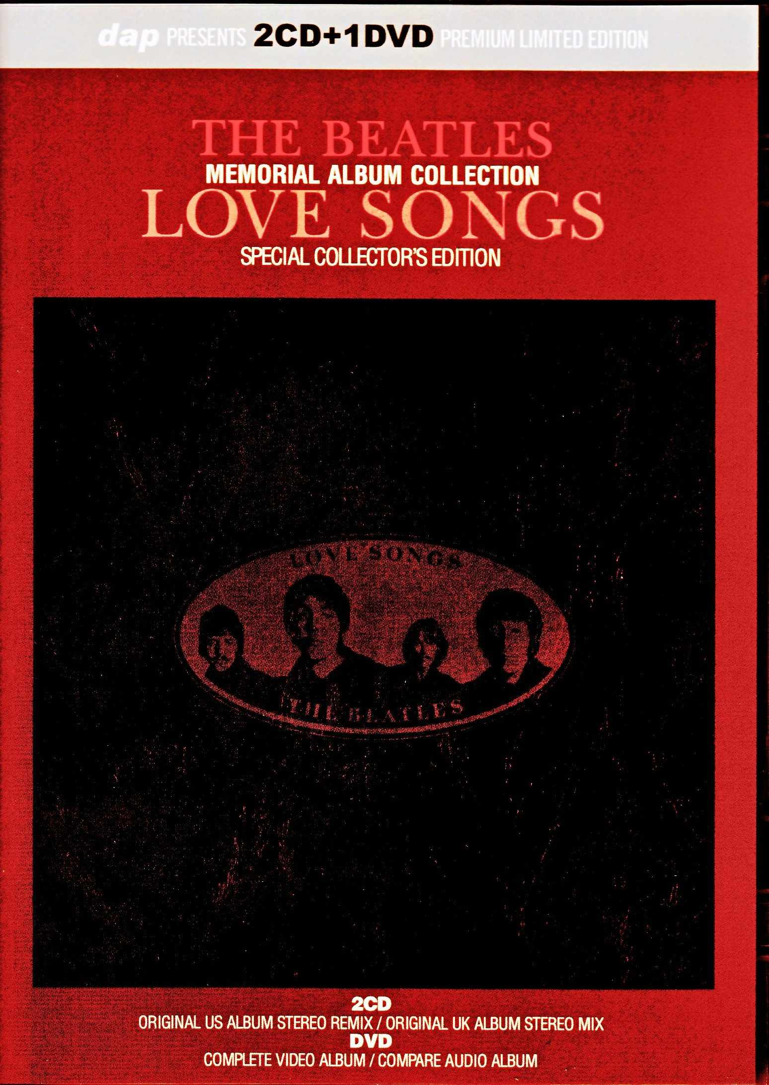 Beatles ビートルズ/ラブ・ソングス Love Songs Memorial Album Collection