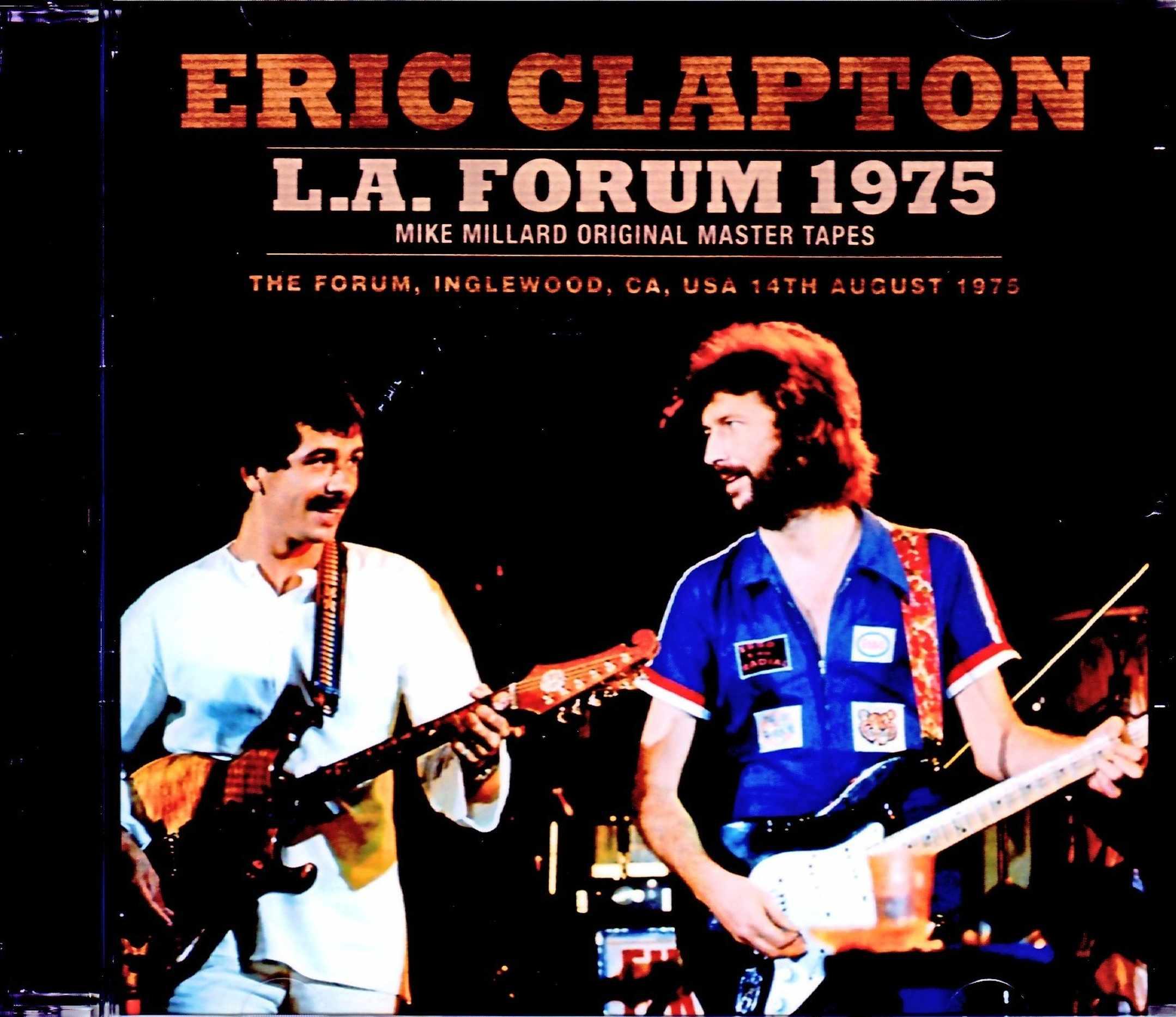 Eric Clapton,Santana エリック・クラプトン サンタナ/CA,USA 1975 Upgrade
