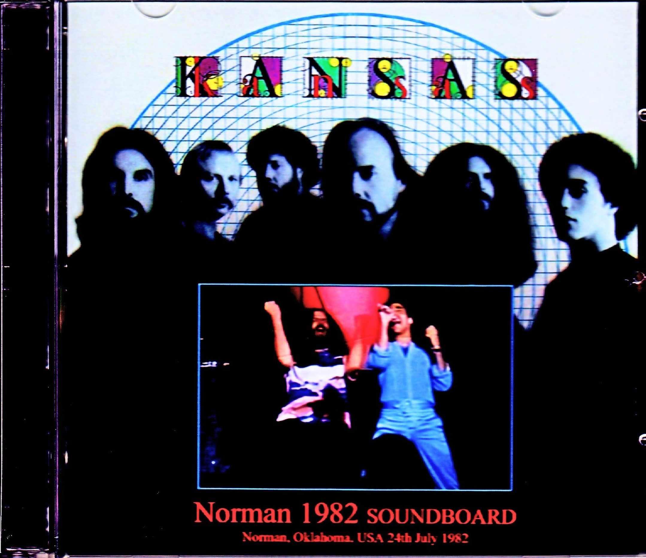 Kansas カンサス/OK,USA 1982