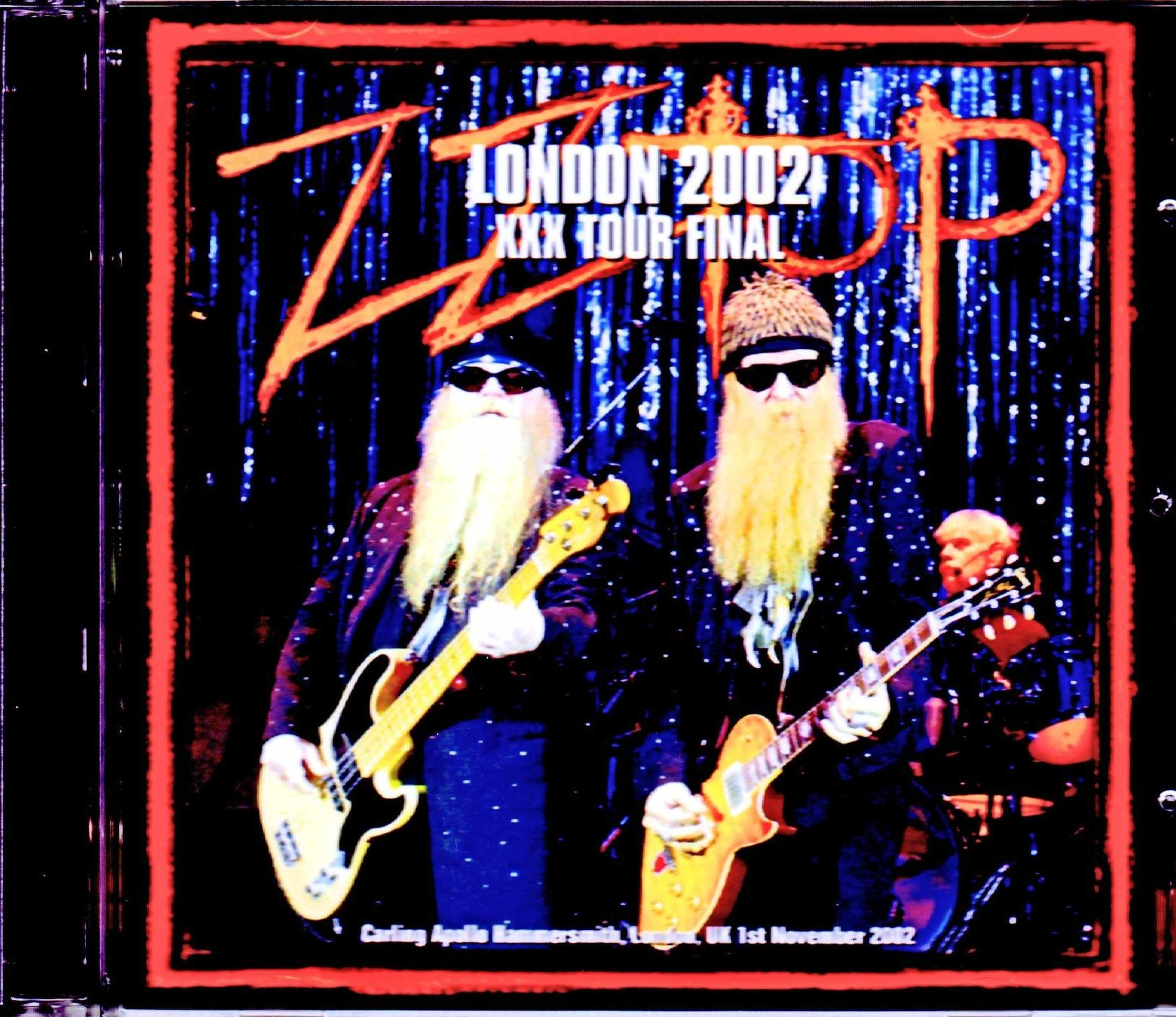 ZZ Top ZZ・トップ/London,UK 2002