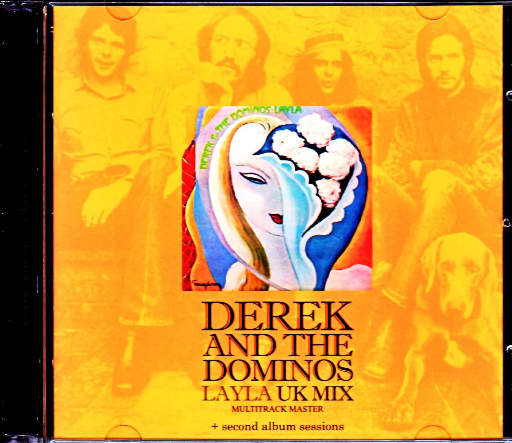 Derek and the Dominos デレク・アンド・ザ・ドミノス/いとしのレイラ Layla UK MIx Multitrack Master