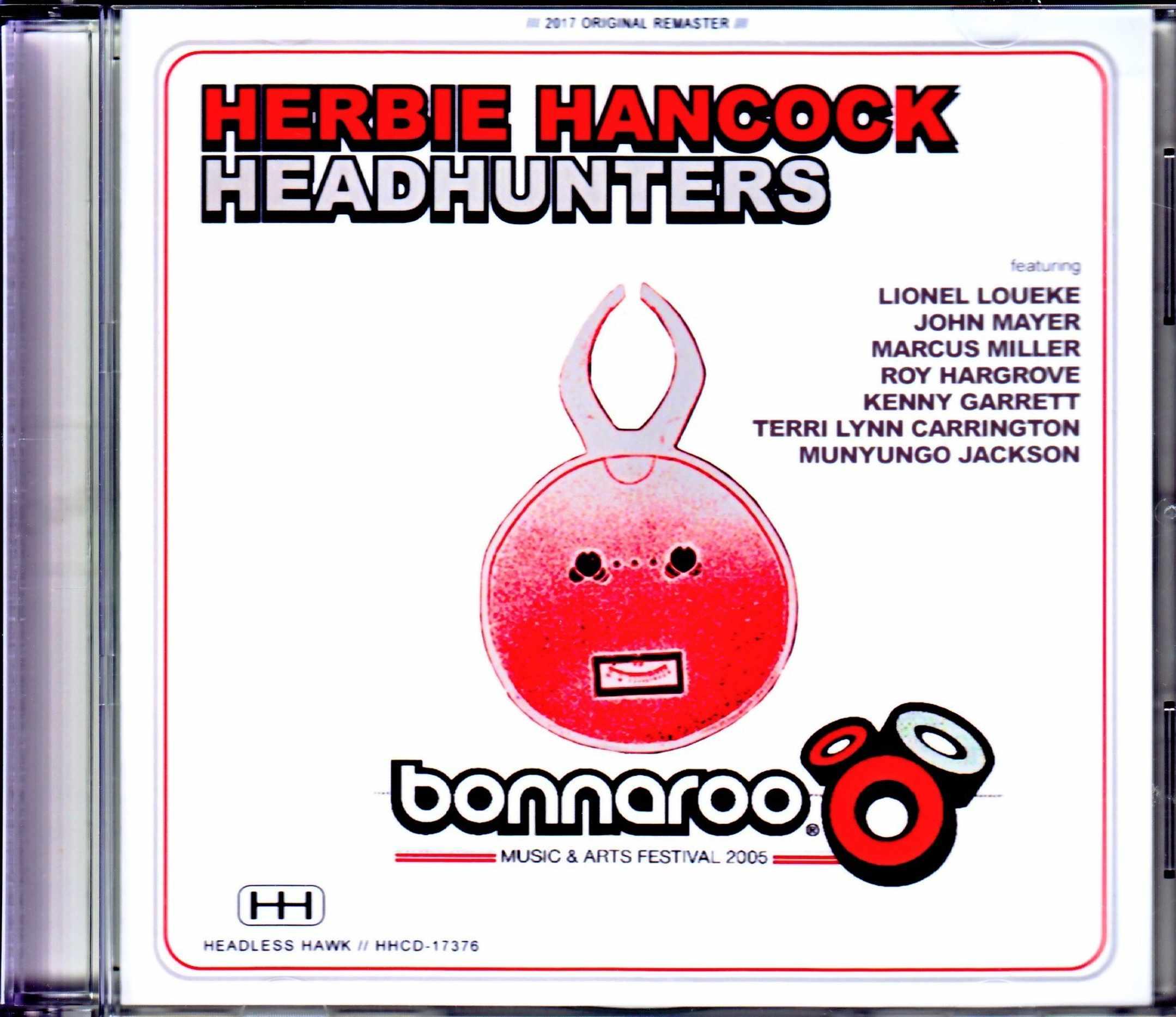 Herbie Hancock Headhunters,John Mayer,Marcus Miller ハービー・ハンコック/TN,USA 2005 & more