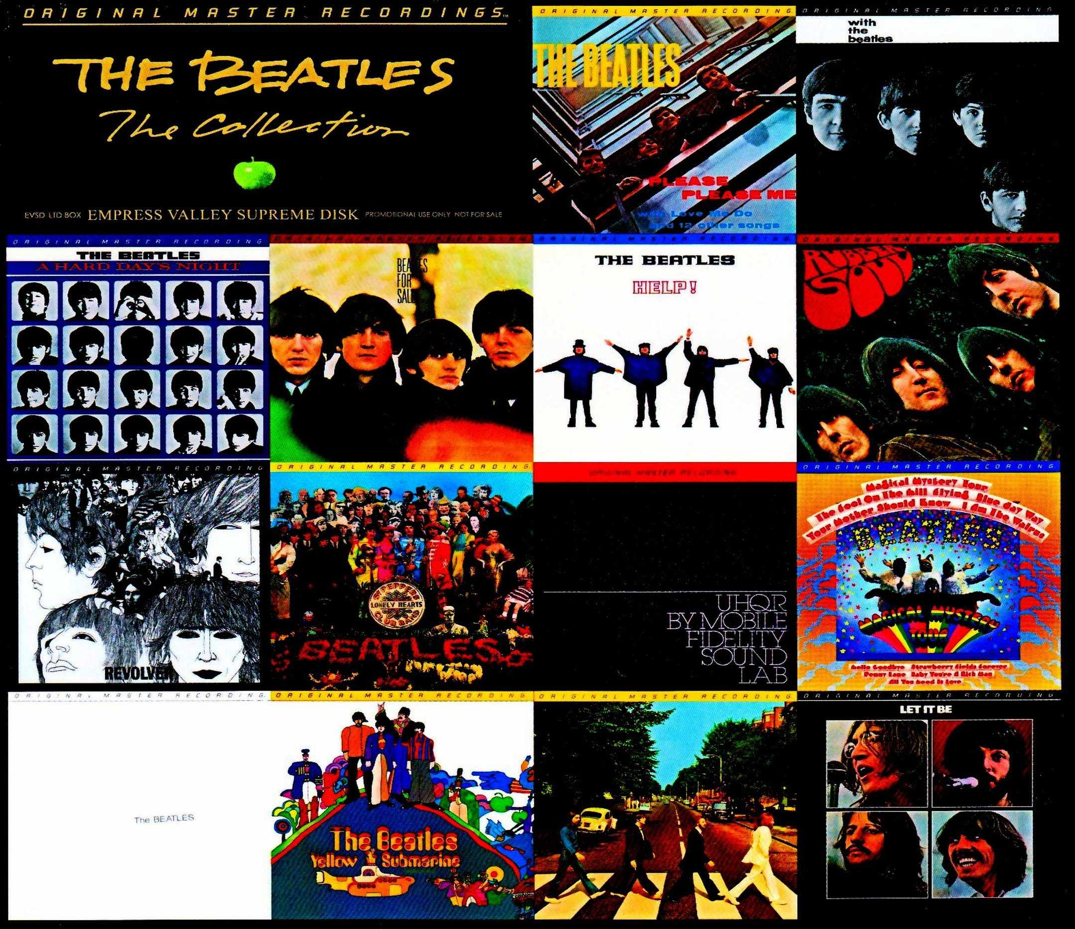 Beatles ビートルズ/モービル・フィデリティ・サウンド・ラボ 高音質盤 Collection