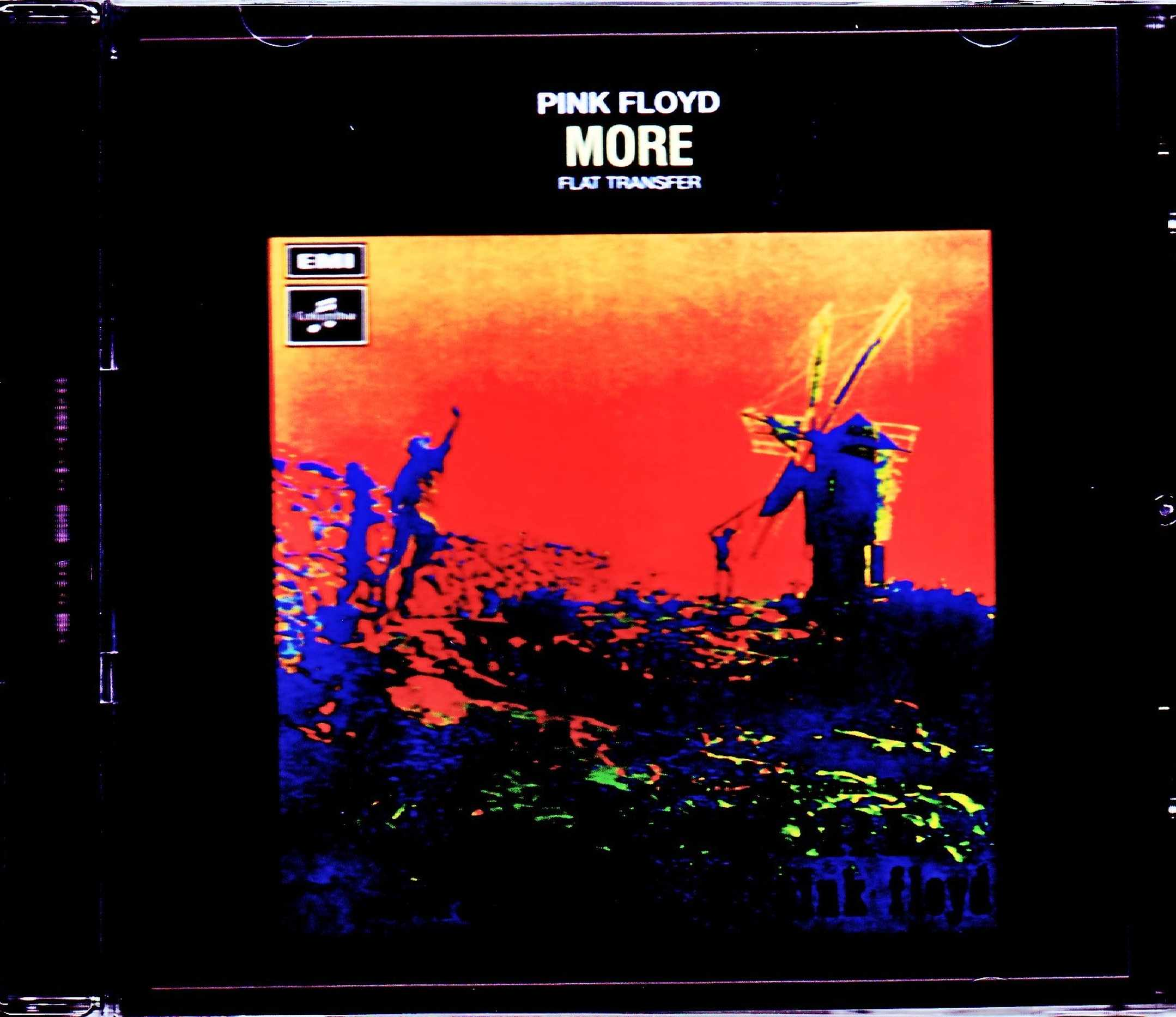 Pink Floyd ピンク・フロイド/モア More Flat Transfer & more
