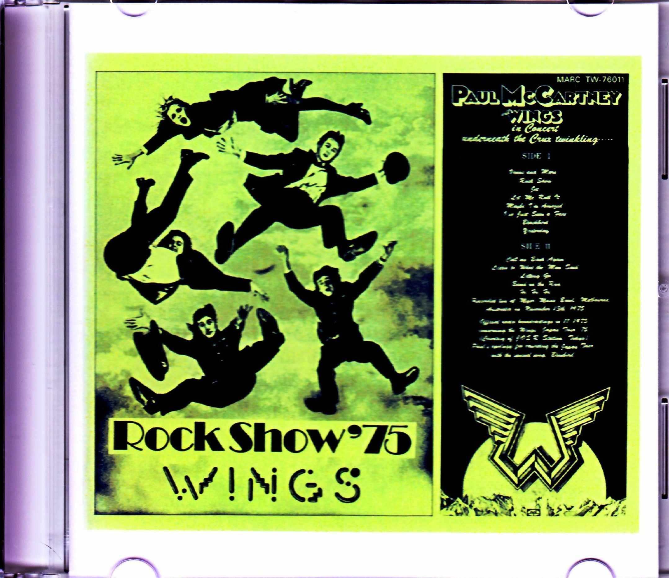 Paul McCartney,Wings ポール・マッカートニー ウイングス/Australia 1975 Original Record Edition