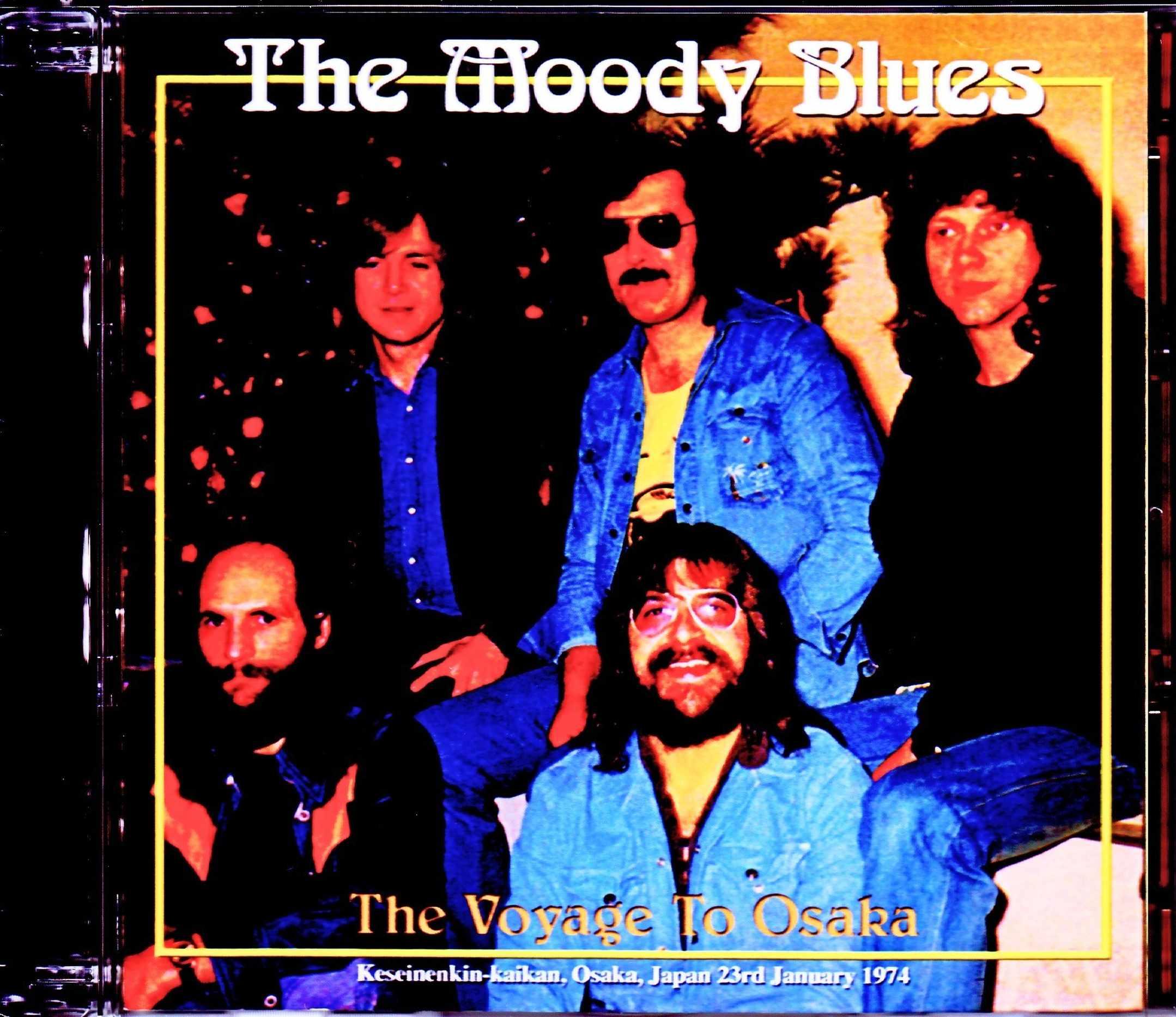 Moody Blues ムーディー・ブルース/Osaka,Japan 1.23.1974