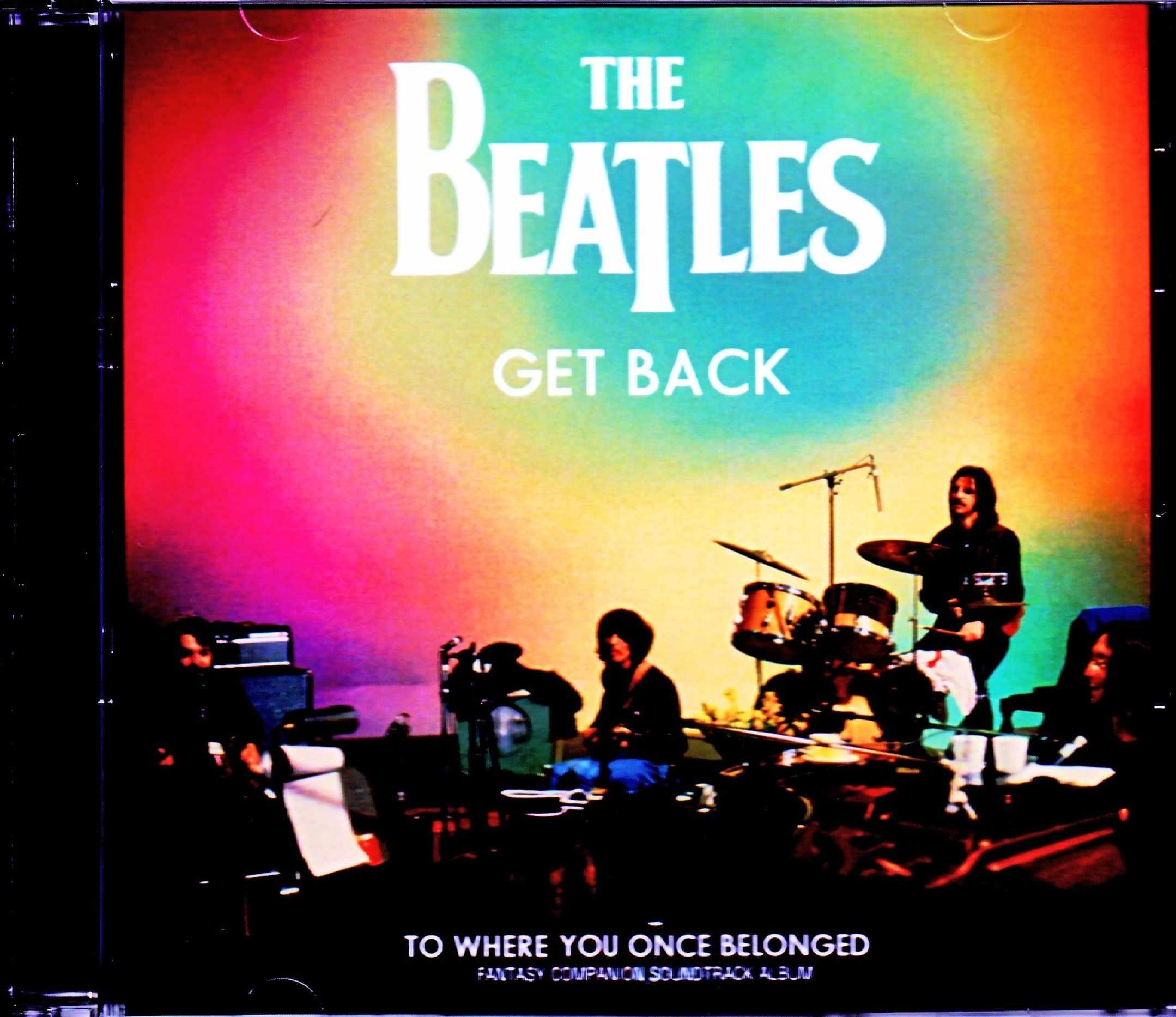 Beatles ビートルズ/ゲット・バック Get Back Fantasy Compilation Soundtrack Album