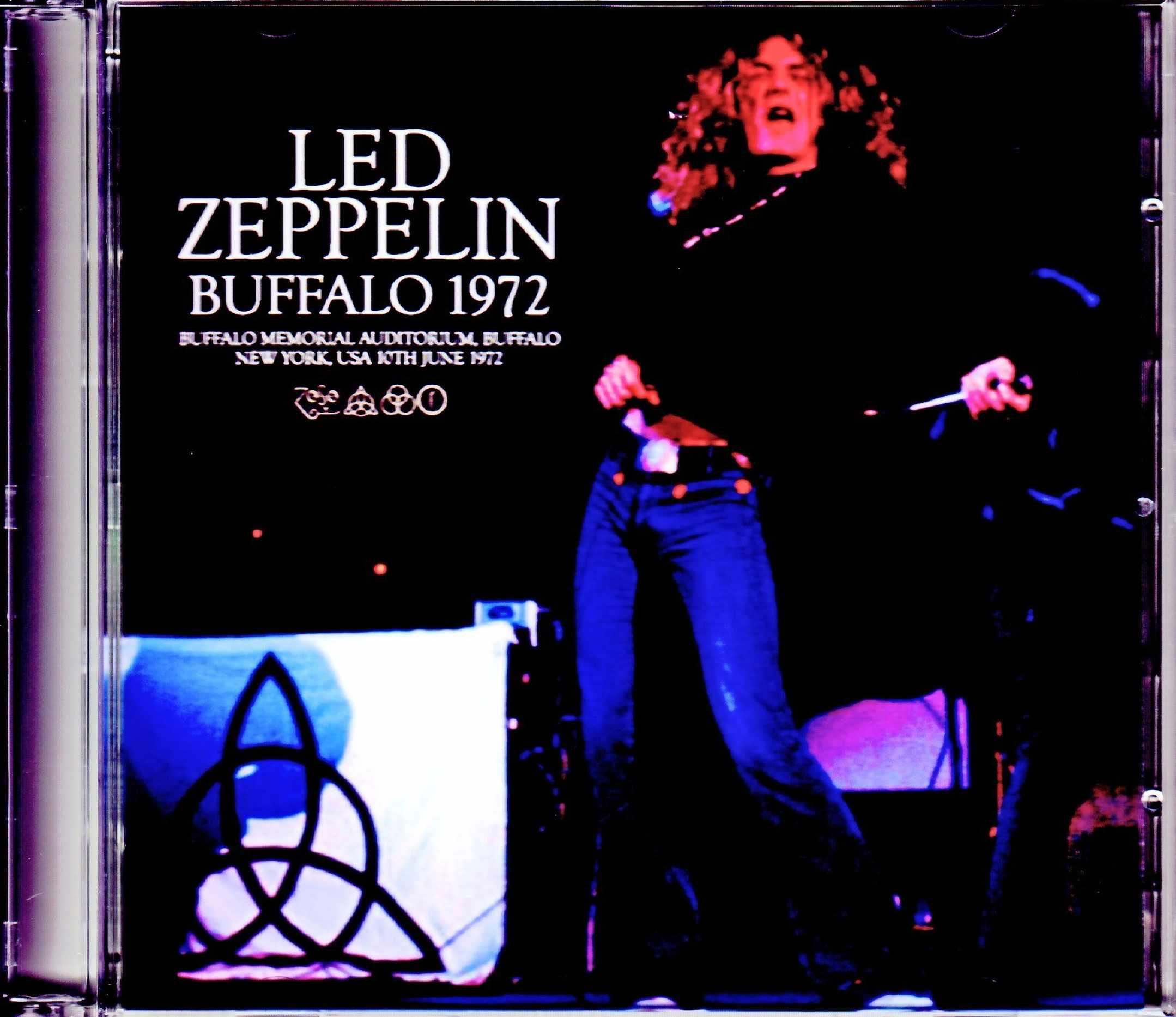 Led Zeppelin レッド・ツェッペリン/NY,USA 6.10.1972 Upgrade