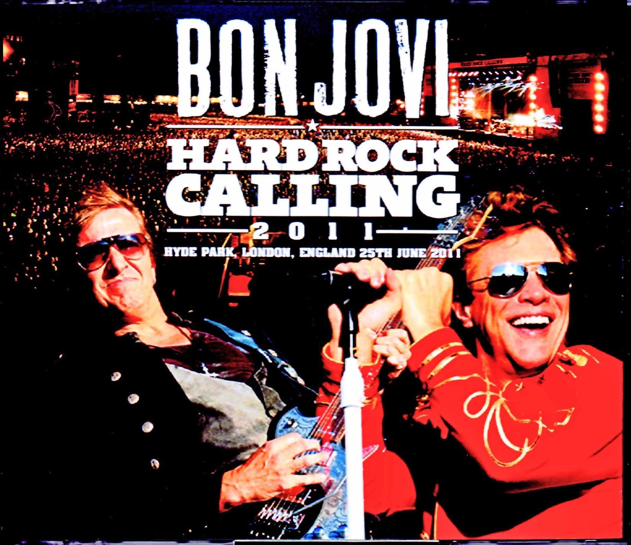 Bon Jovi ボン・ジョヴィ/London,UK 2011 Complete S & V