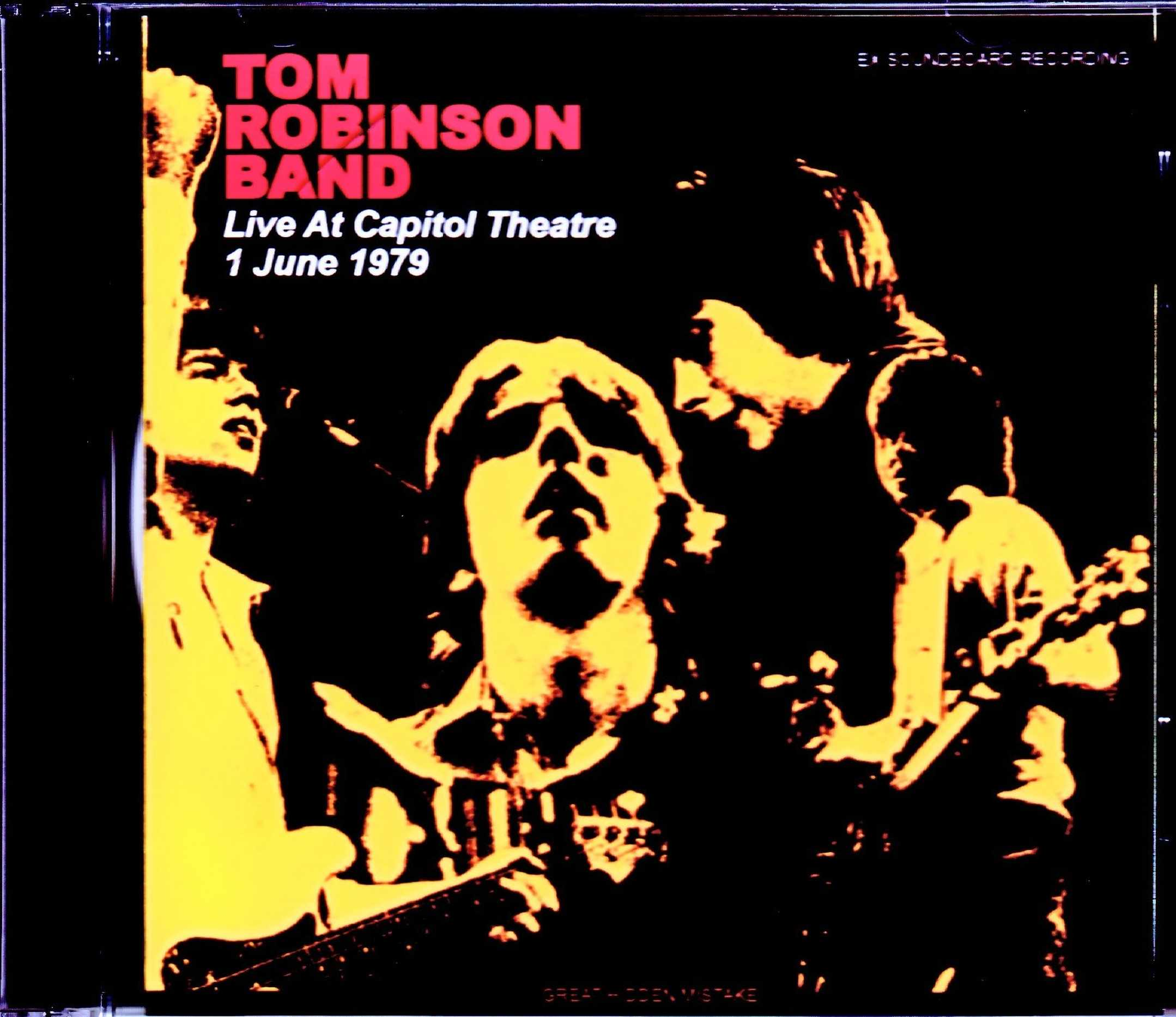 Tom Robinson Band トム・ロビンソン/NJ,USA 1979