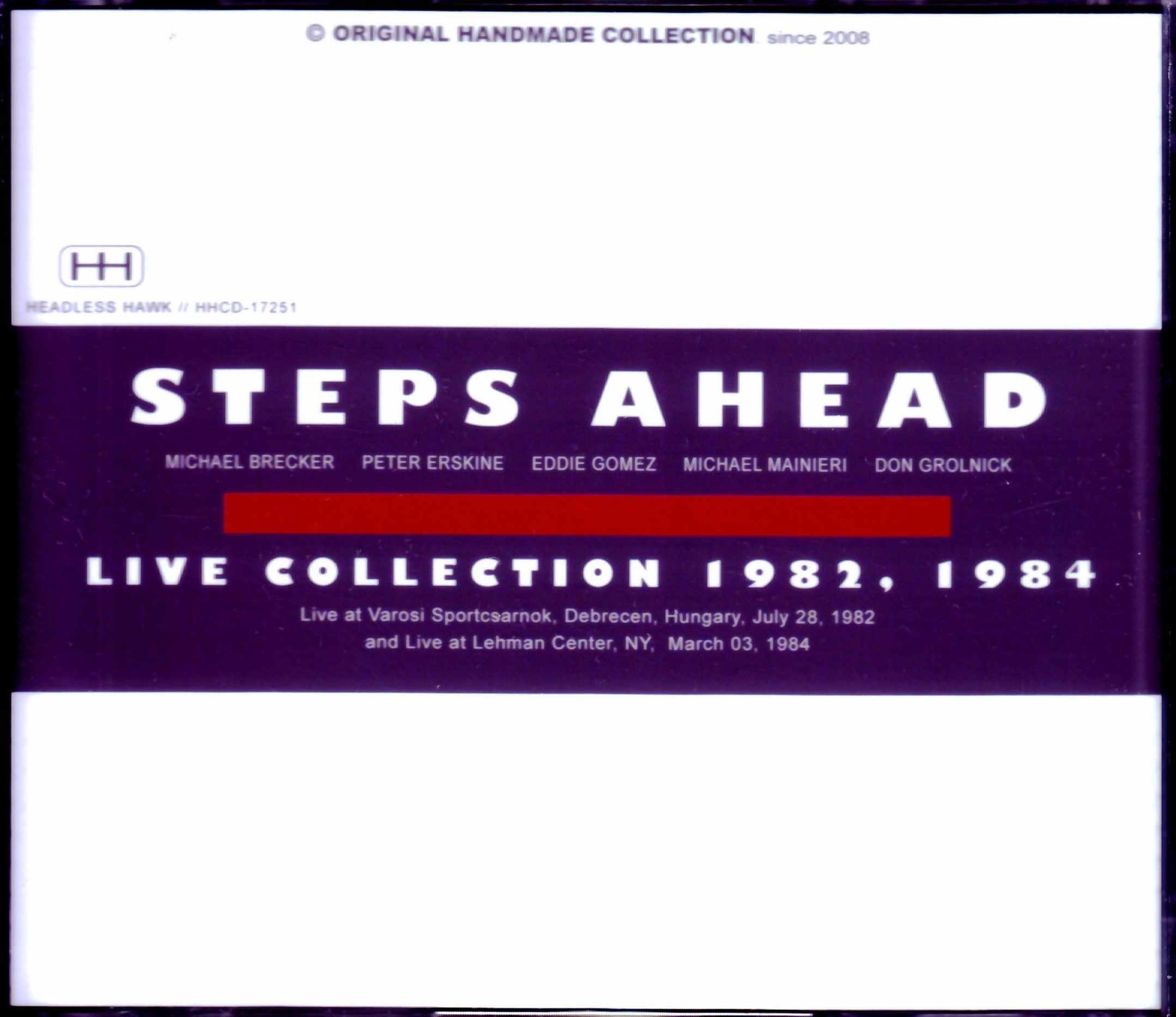 Steps Ahead,Michael Brecker,Mike Mainieri,Don Grolnick ステップス・アヘッド/Hungary 1982 & more