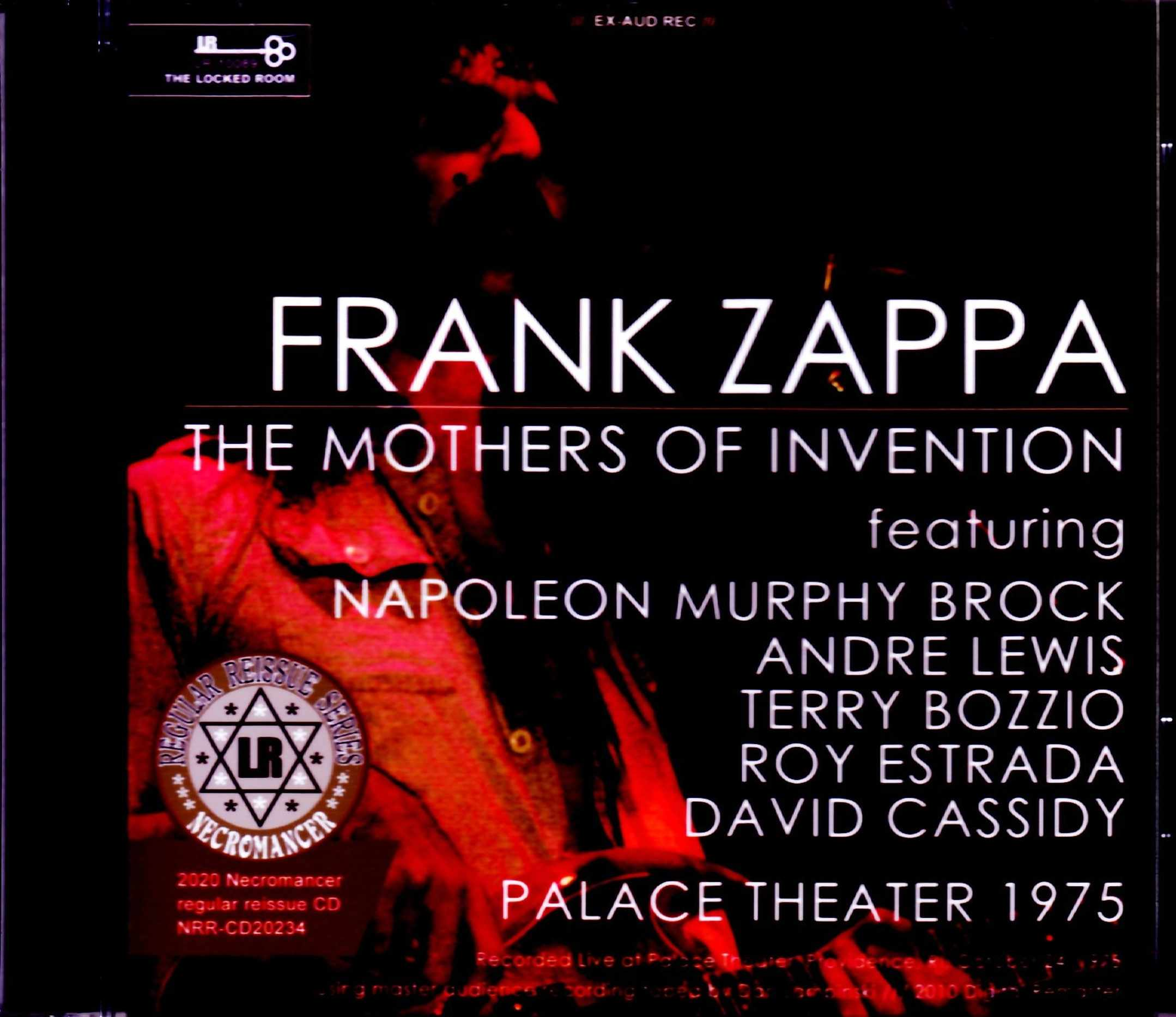 Frank Zappa the Mothers of Invention フランク・ザッパ/RI,USA 1975