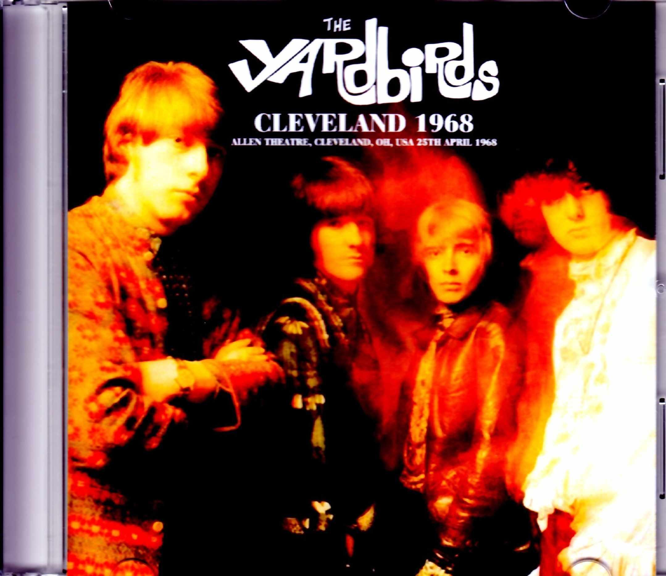 Yardbirds ヤードバーズ/OH,USA 1968