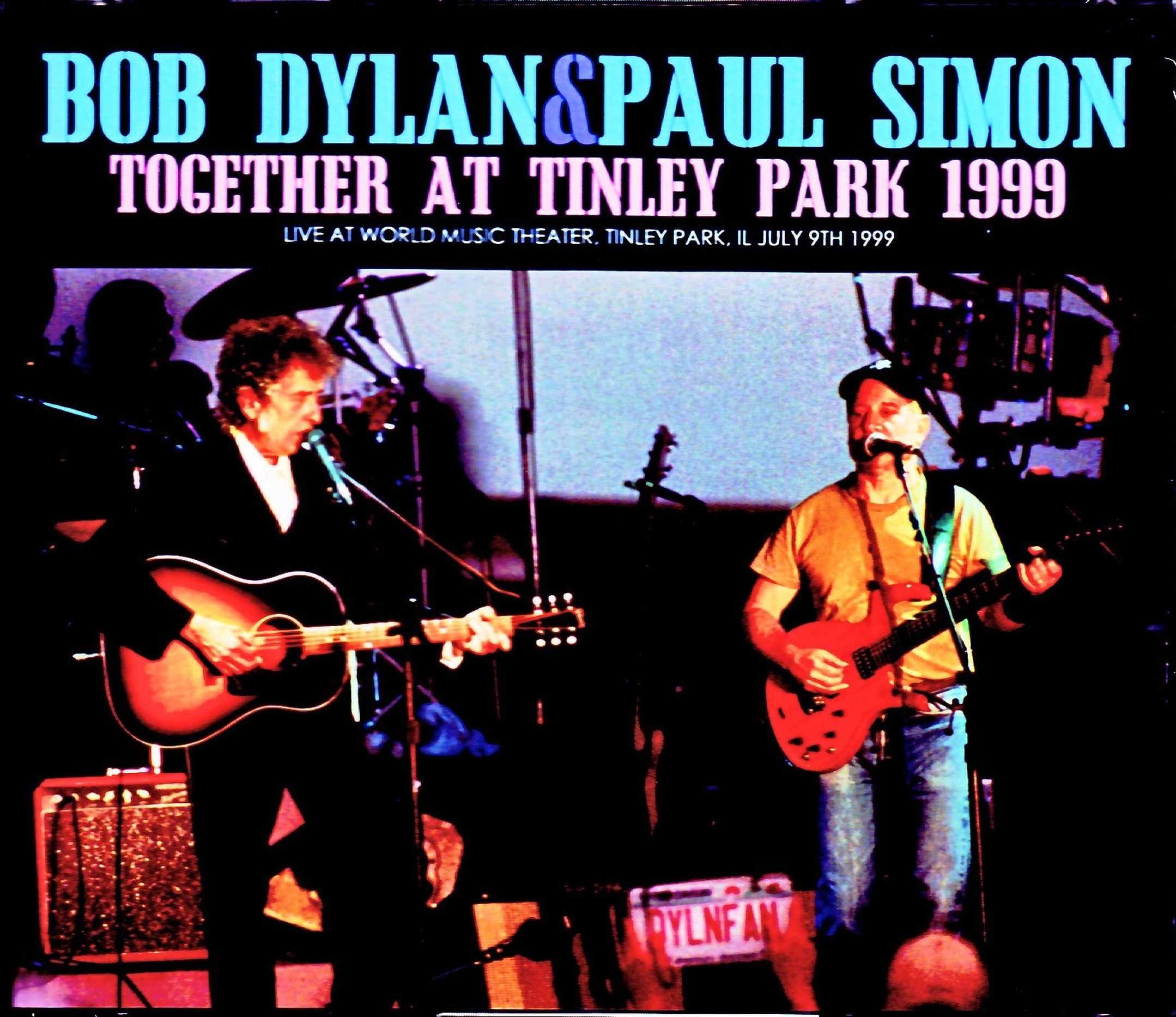 Bob Dylan,Paul Simon ボブ・ディラン ポール・サイモン/IL,USA 1999 Complete