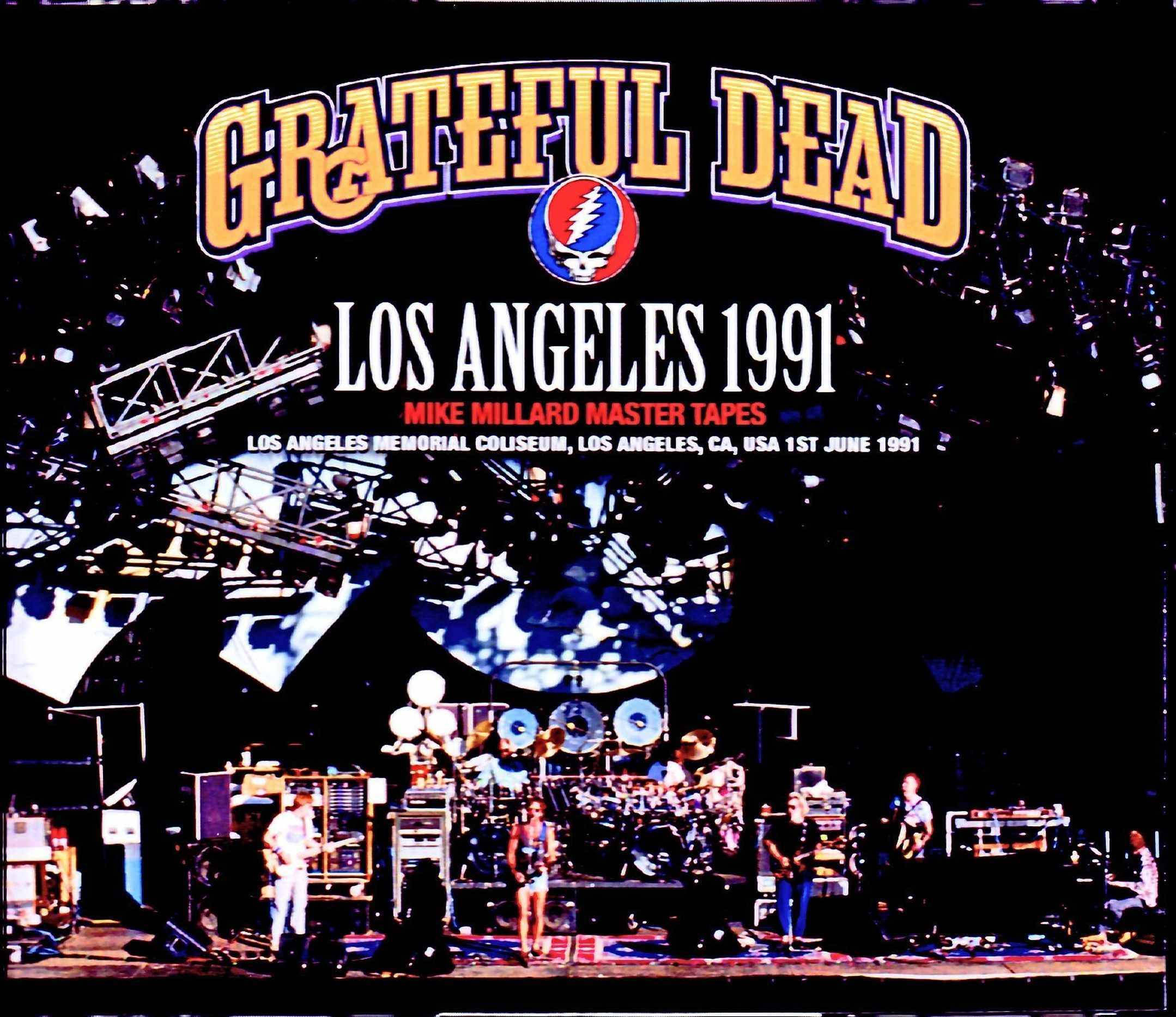 Grateful Dead グレイトフル・デッド/CA,USA 1991 Mike Millard Master Tapes