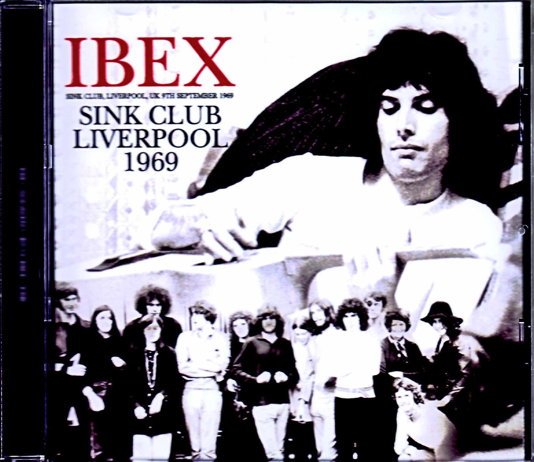 IBEX Freddie Bulsara/フレディ・マーキュリーがQUEEN以前に在籍していた幻のバンド UK 1969 Upgrade