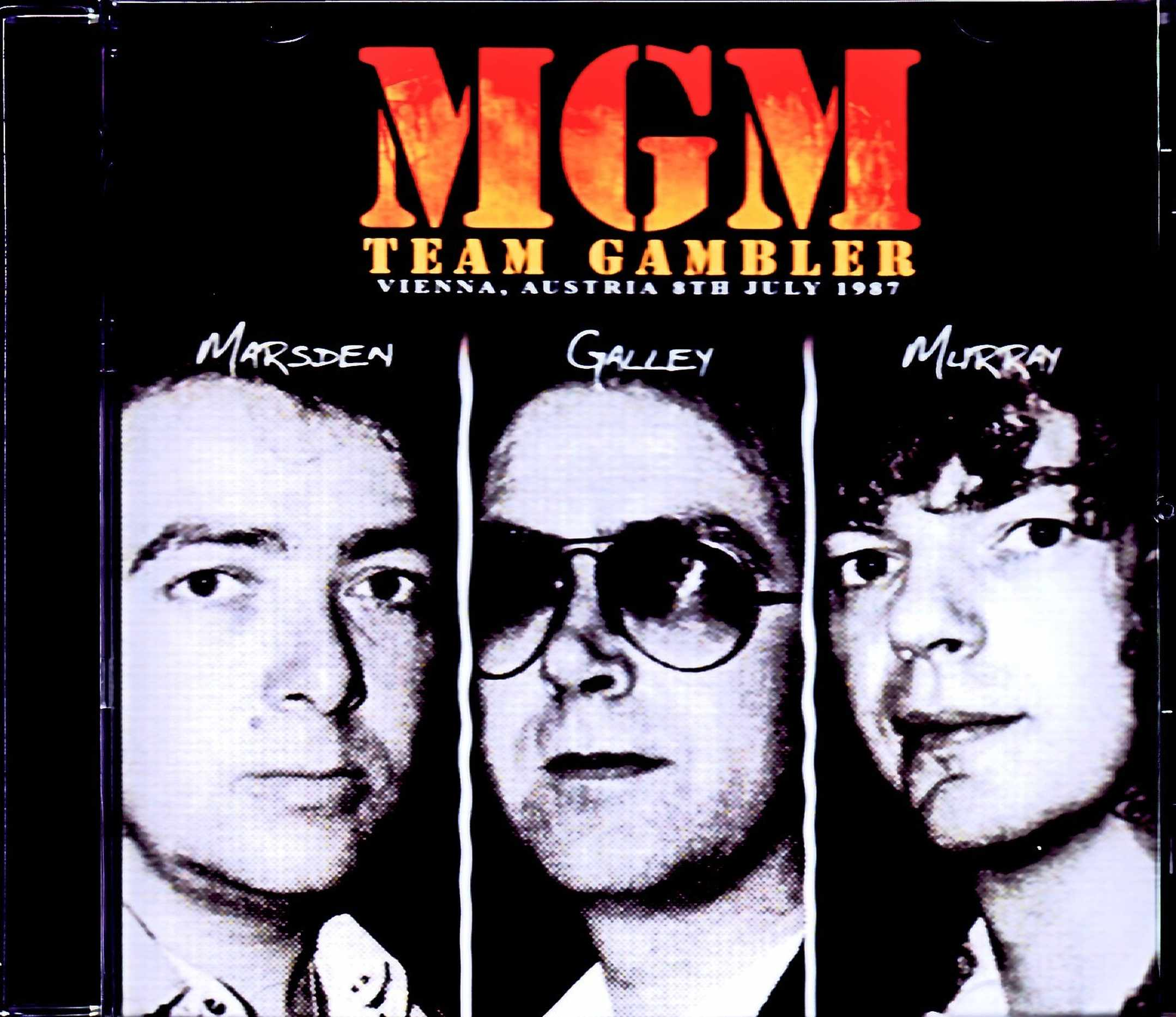 MGM Team Gambler ex. Whitesnake Marsden,Galley & Murray/元ホワイトスネイクのメンバー結集 Austria 1987