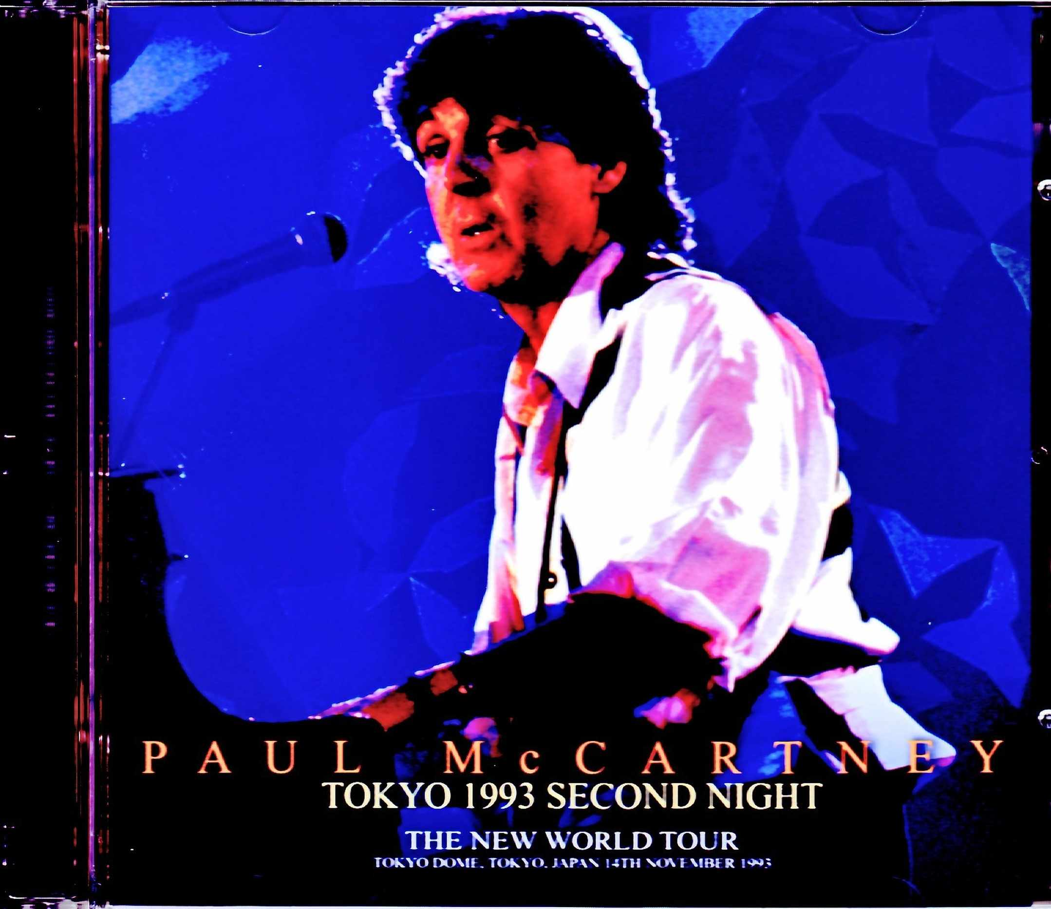 Paul McCartney ポール・マッカートニー/Tokyo,Japan 11.14.1993