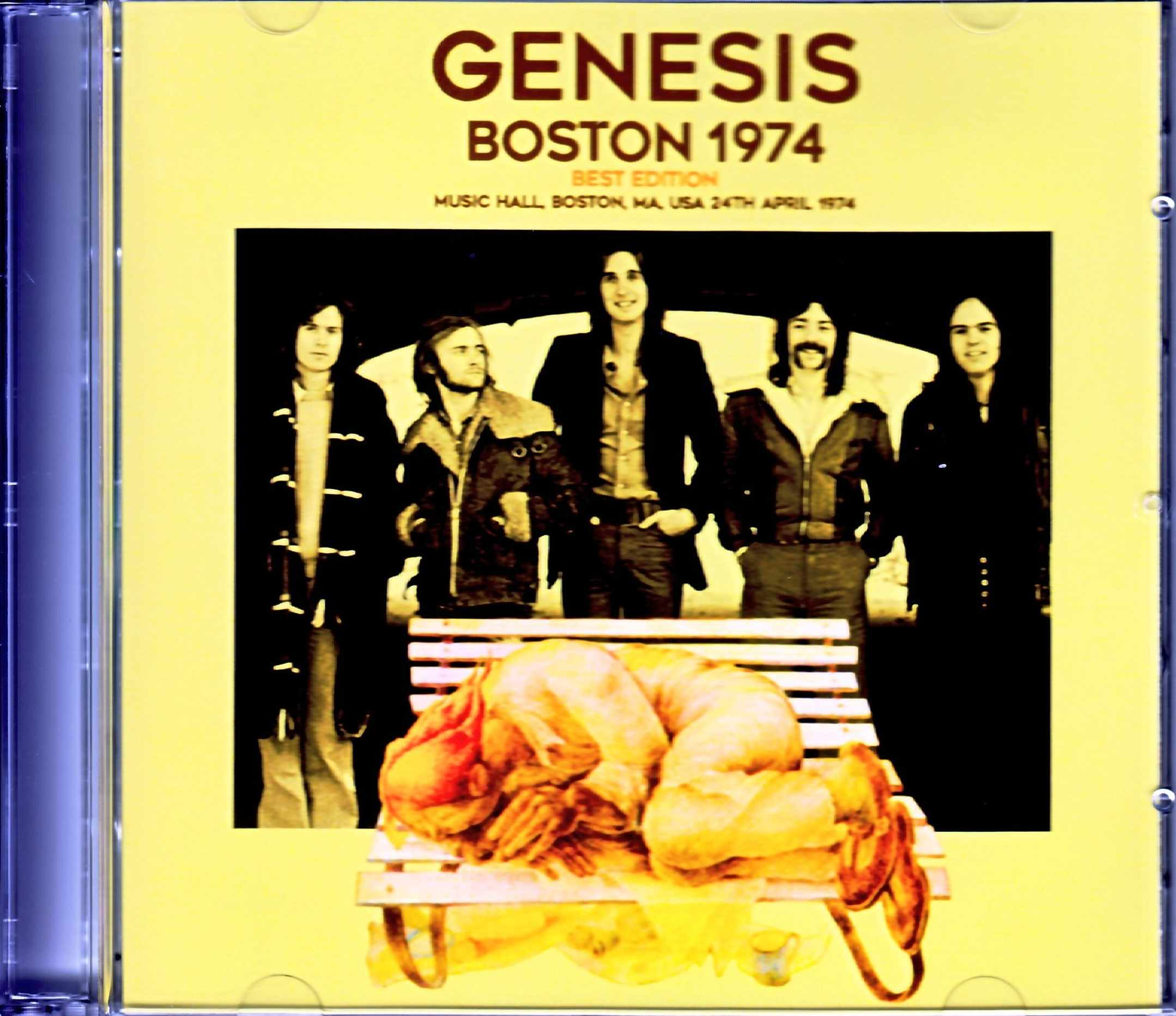 Genesis ジェネシス/MA,USA 1974 & more Best Edition