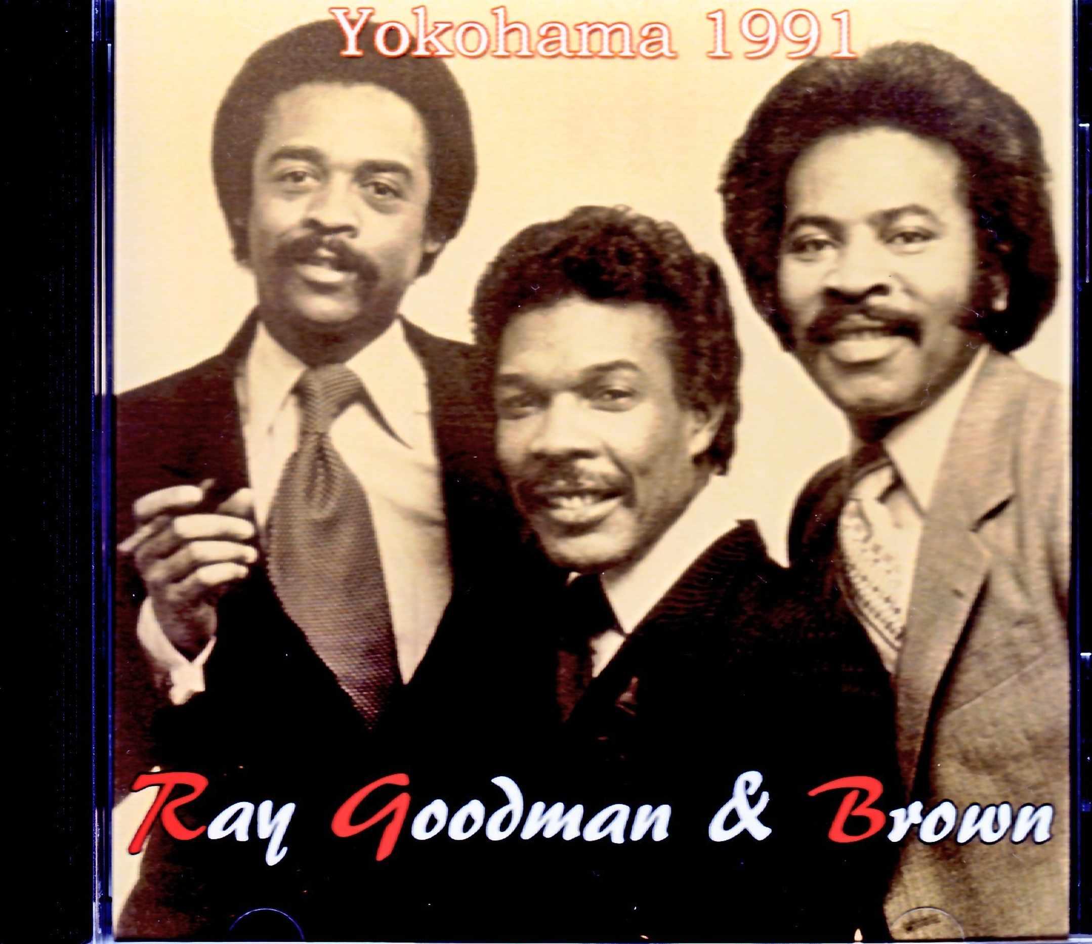 Ray Goodman & Brown レイ・グッドマン・アンド・ブラウン/Kanagawa,Japan 1991