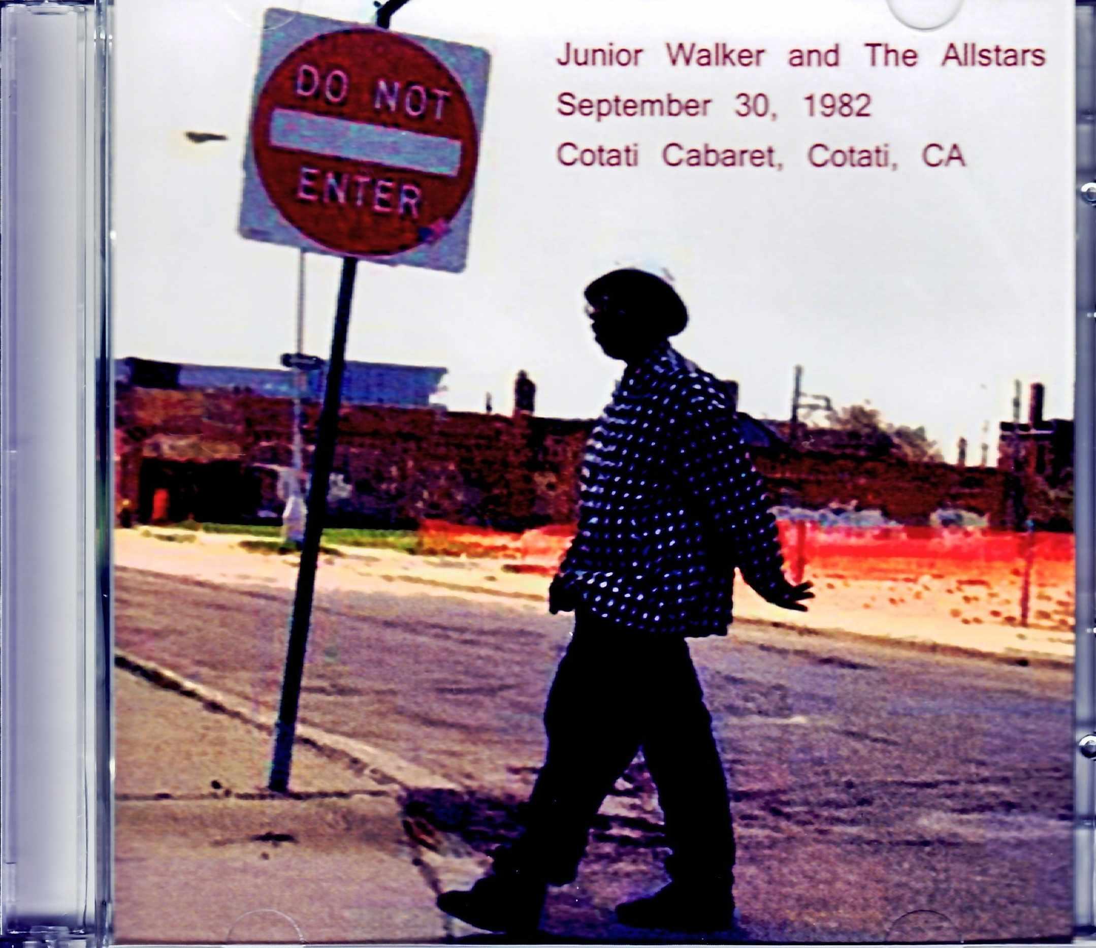 Junior Walker and the Allstars ジュニア・ウォーカー/CA,USA 1982