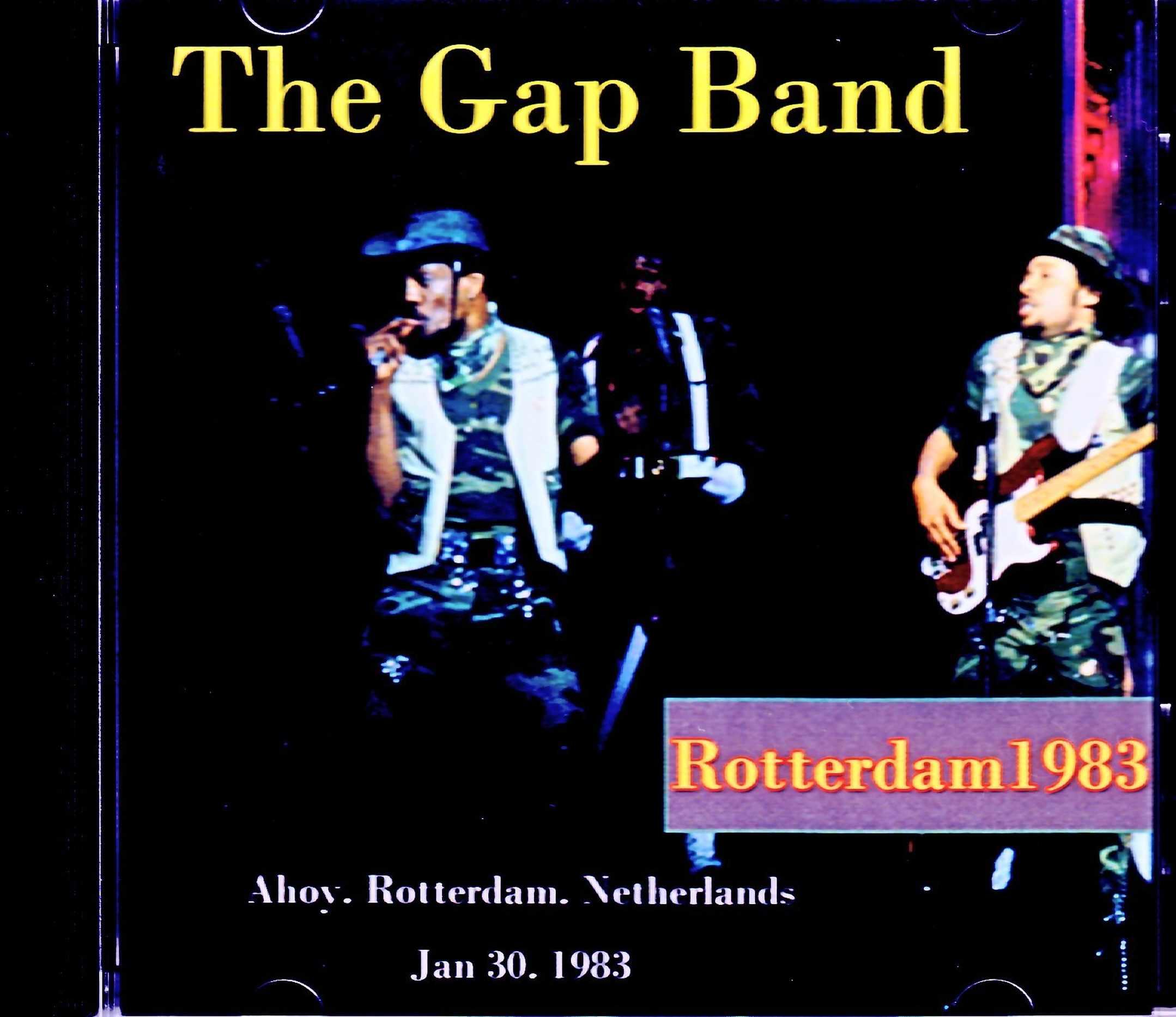 Gap Band ギャップ・バンド/Netherlands 1983