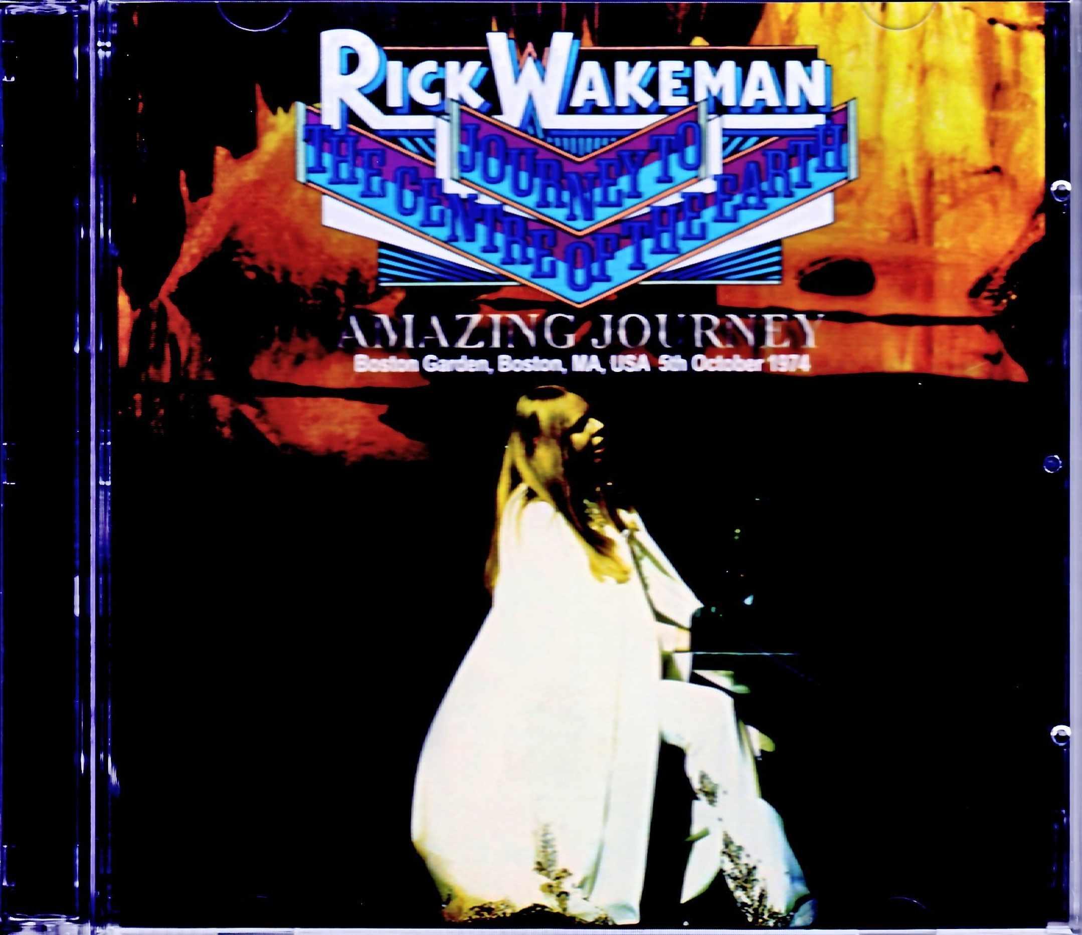 Rick Wakeman リック・ウェイクマン/MA,USA 1974 Complete