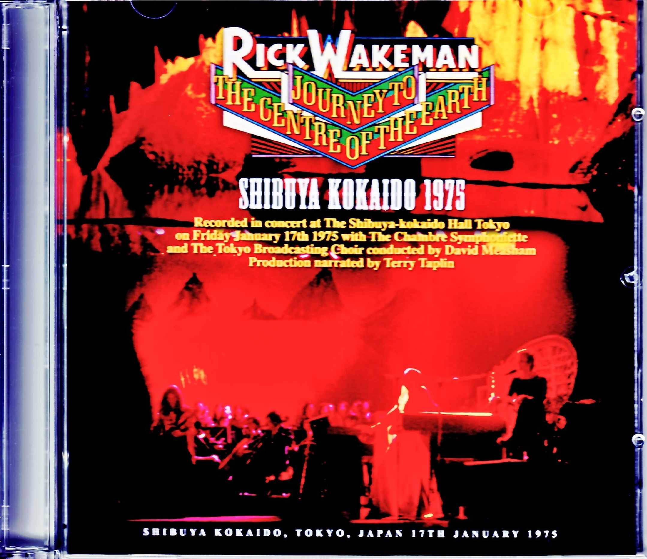 Rick Wakeman リック・ウェイクマン/Tokyo,Japan 1975 & more