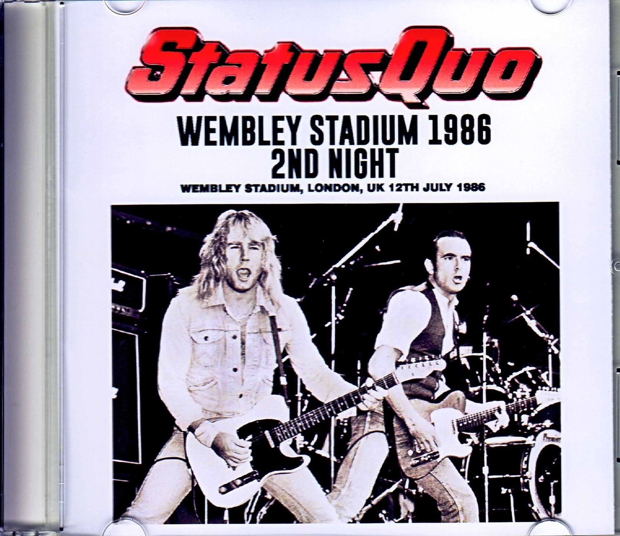 Status Quo ステイタス・クォー/London,UK 1986