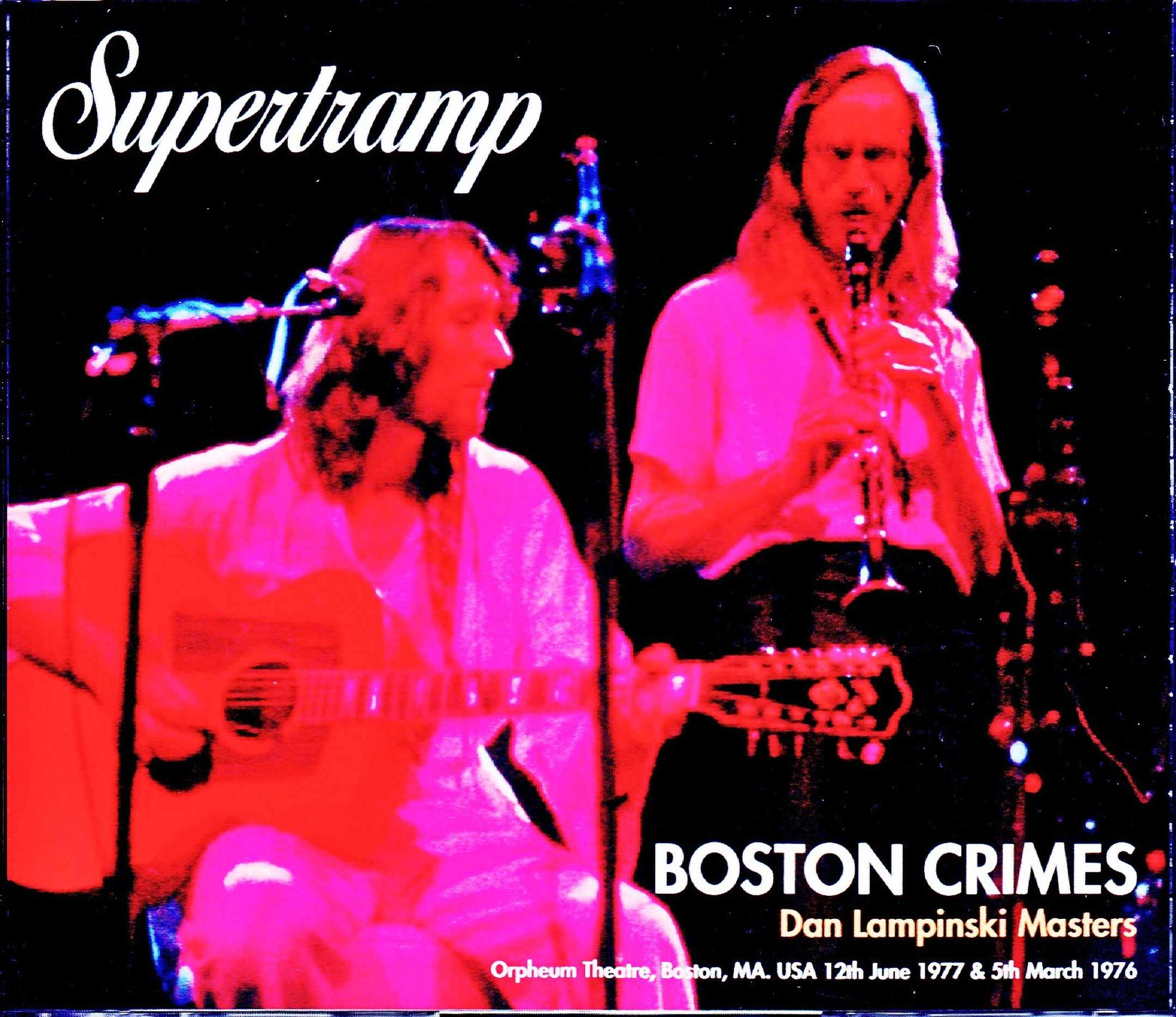 Supertramp スーパートランプ/MA,USA 1977 & more