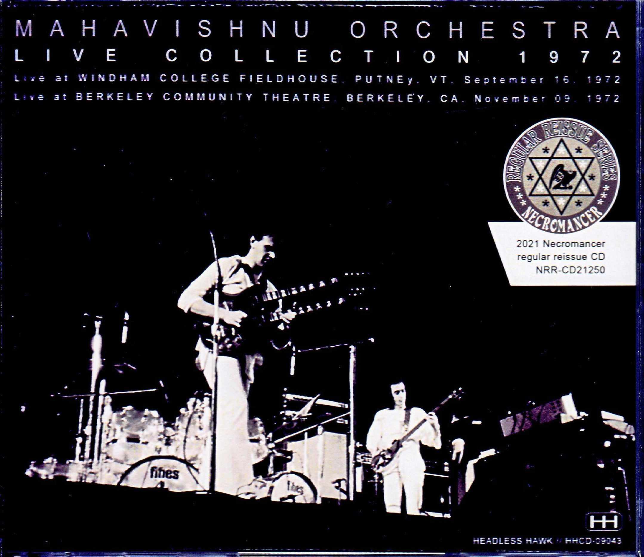 Mahavishnu Orchestra マハヴィシュヌ・オーケストラ/VT,USA 1972 & more