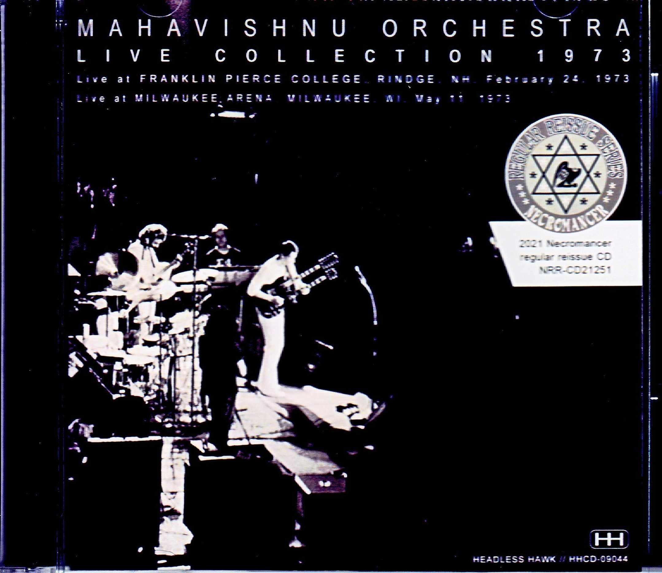 Mahavishnu Orchestra マハヴィシュヌ・オーケストラ/NH,USA 1973 & more
