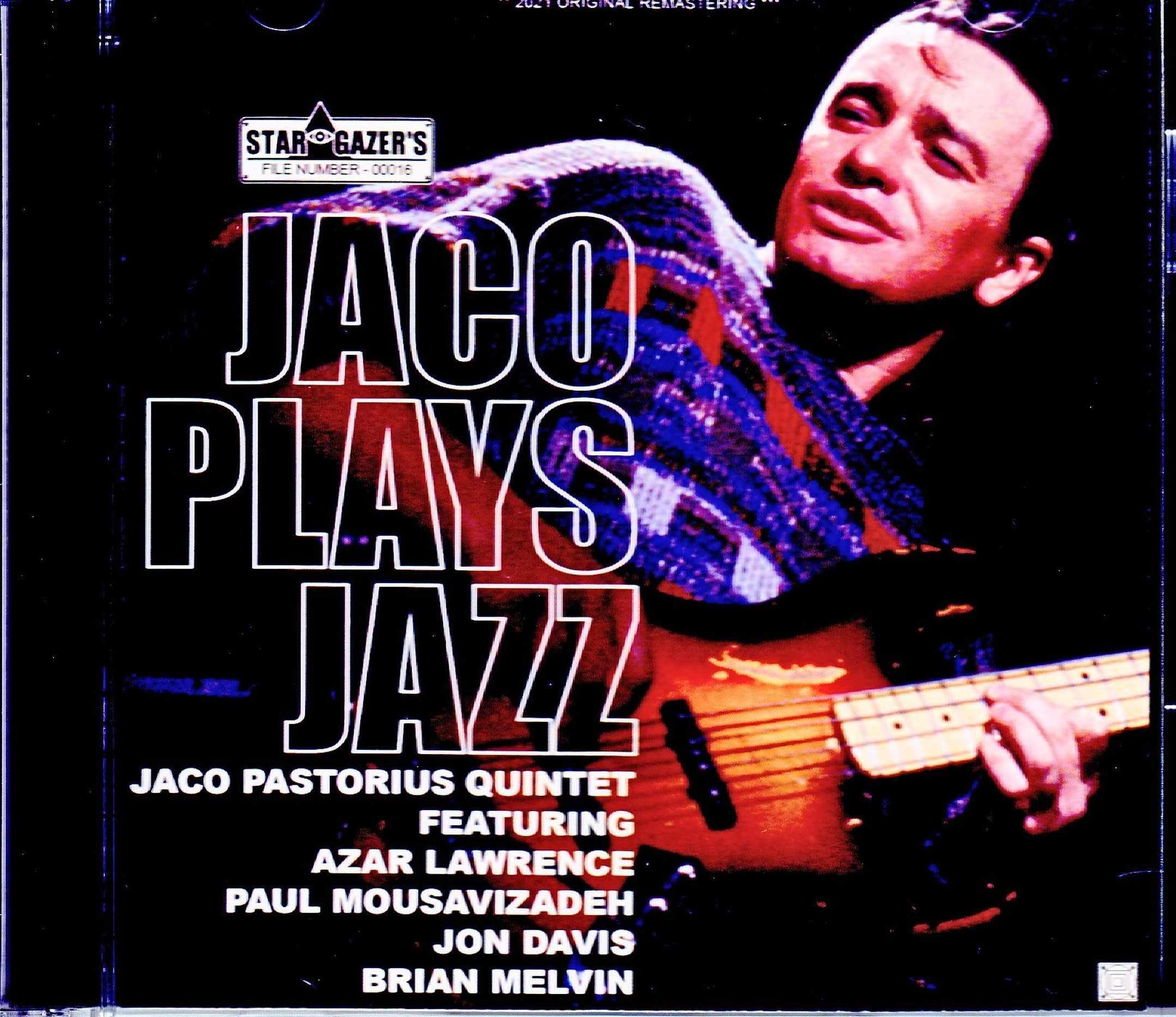 Jaco Pastorius Quintet ジャコ・パストリアス/France 1985