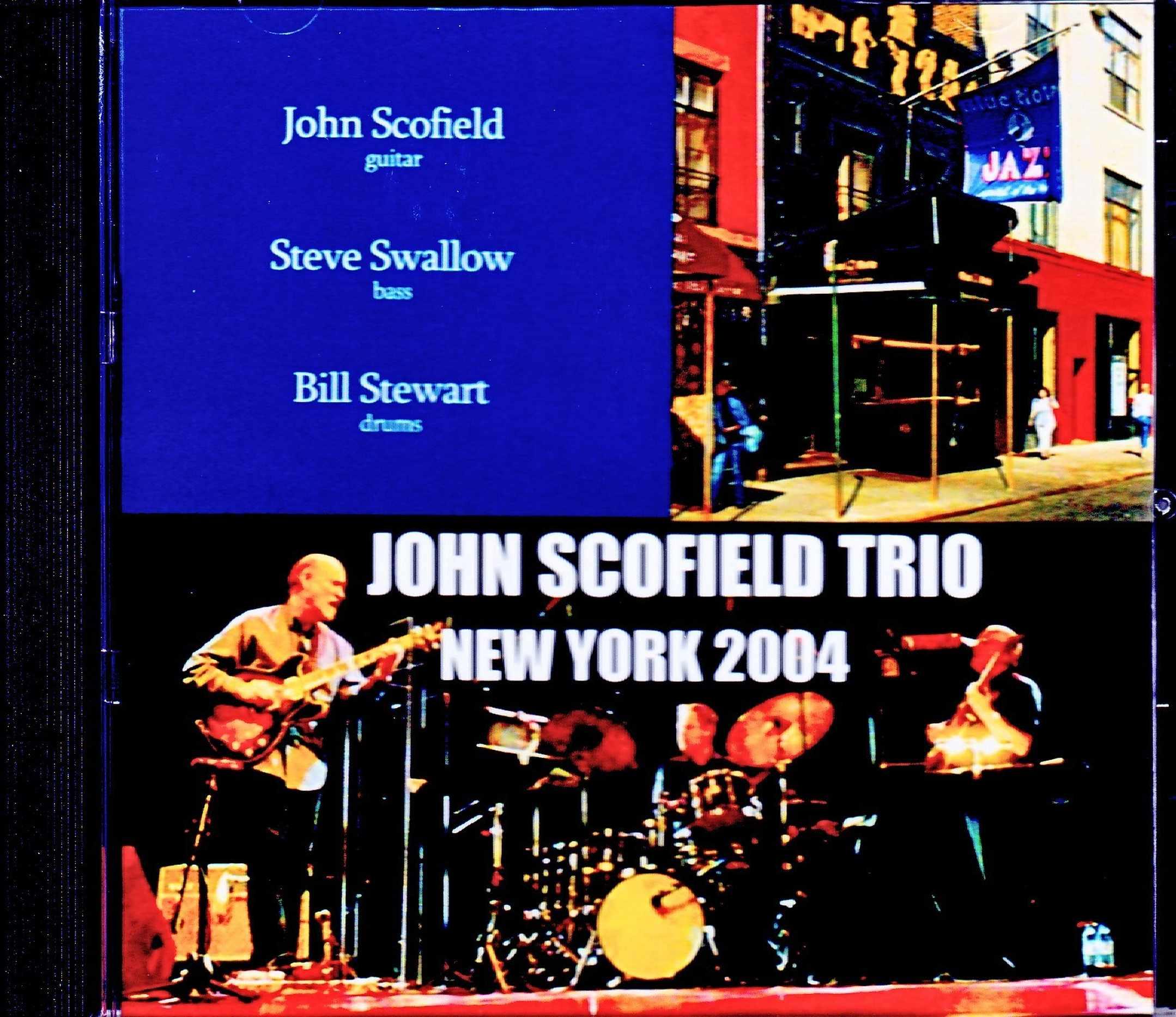John Scofield Trio ジョン・スコフィールド/NY,USA 2004