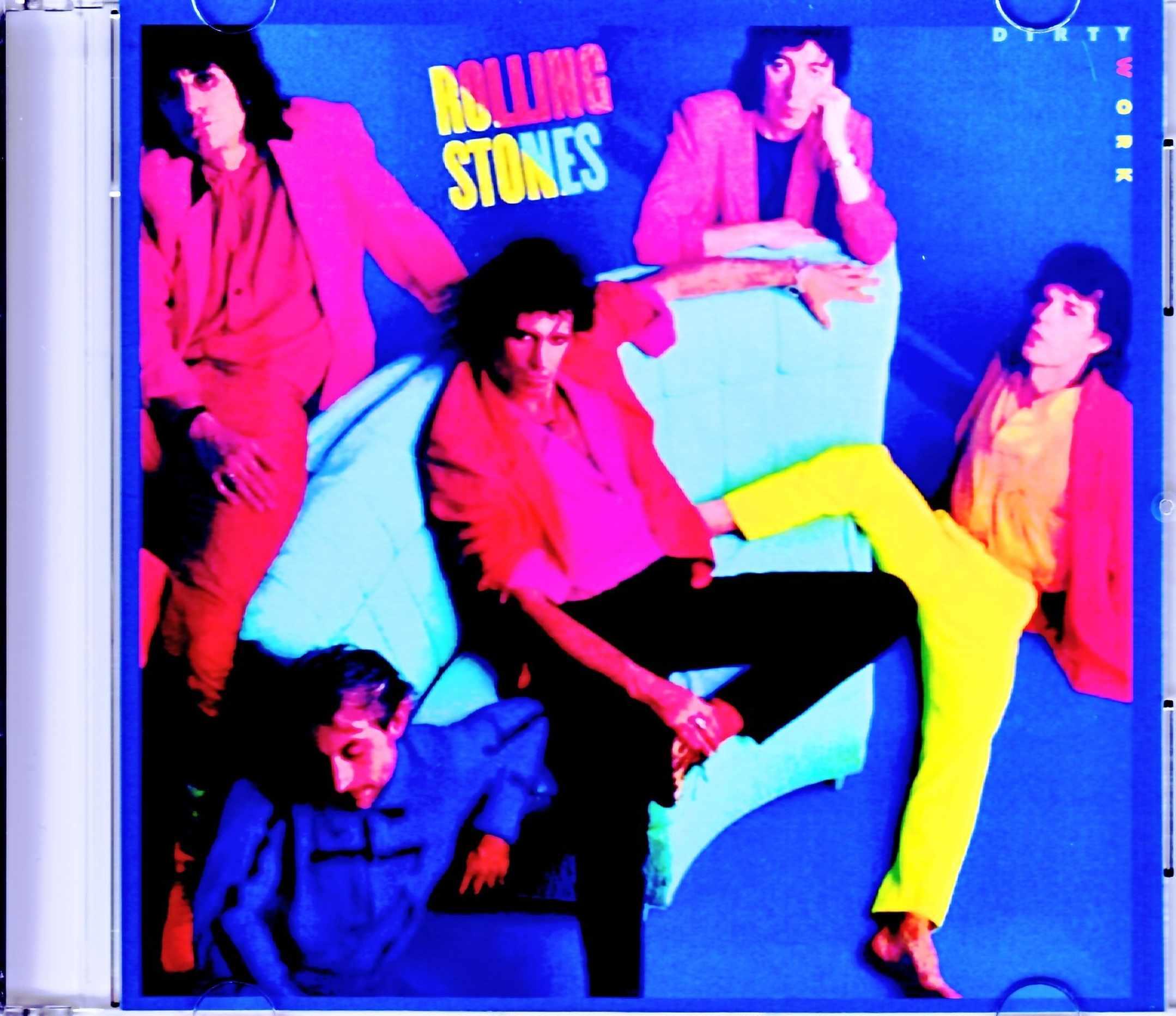 Rolling Stones ローリング・ストーンズ/ダーティ・ワーク Dirty Work UK Original LP