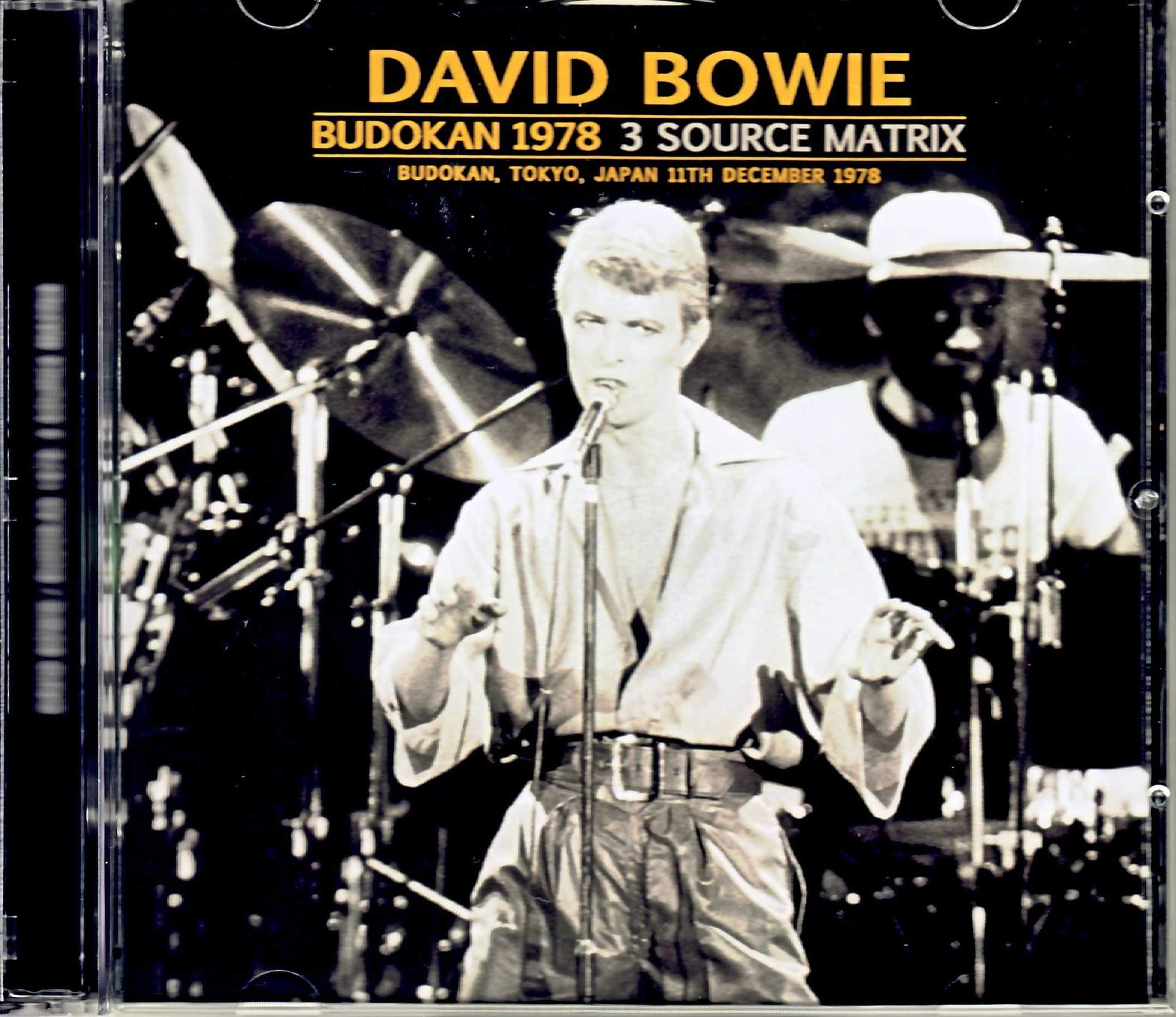 David Bowie デビッド・ボウイ/Tokyo,Japan 1978 3Source Matrix