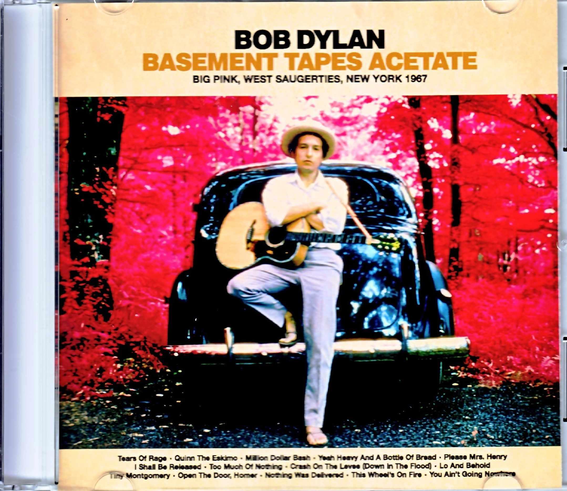 Bob Dylan ボブ・ディラン/NY,USA 1967