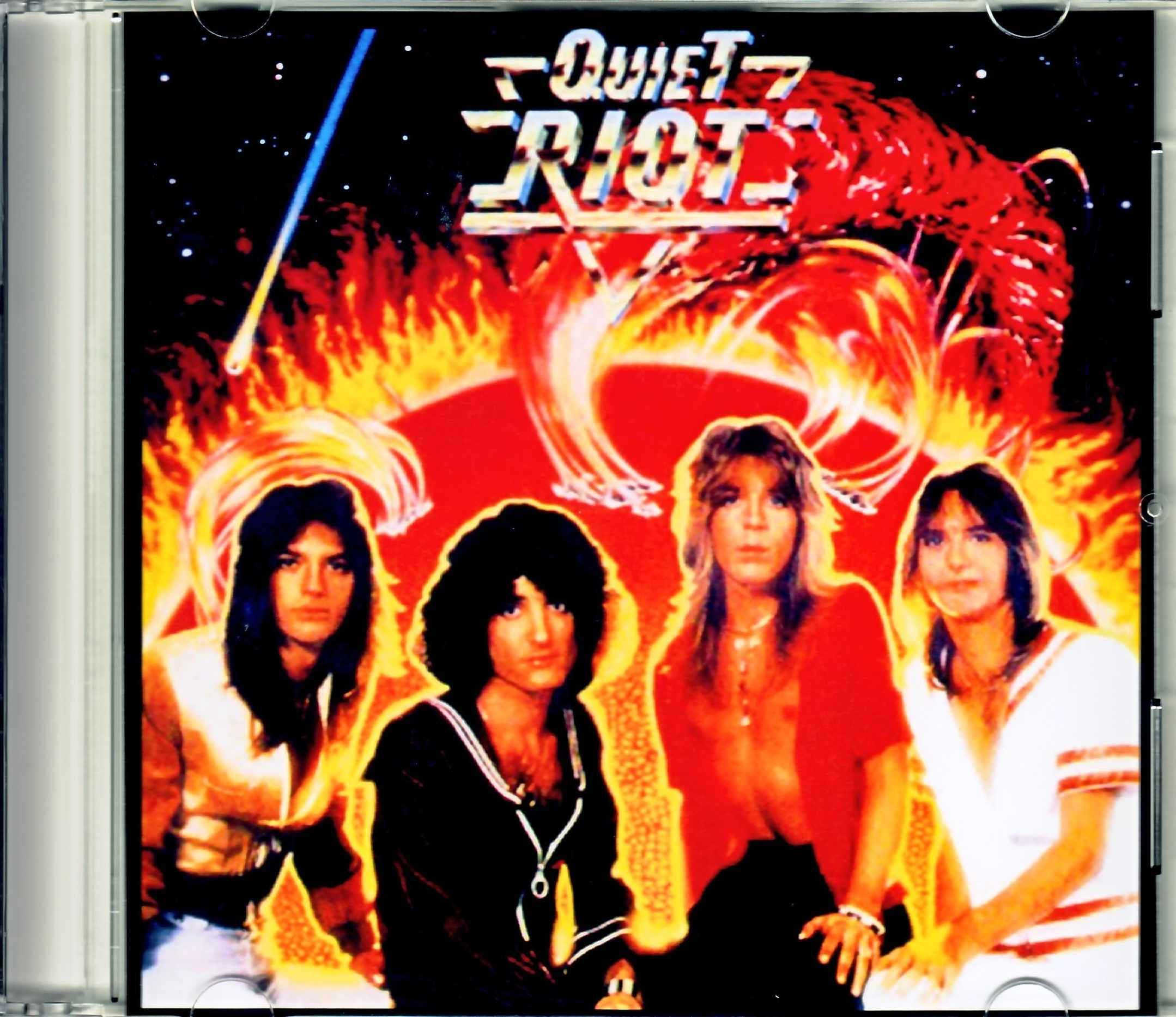Quiet Riot クワイエット・ライオット/新たなる暴動 I Original US LP Promo