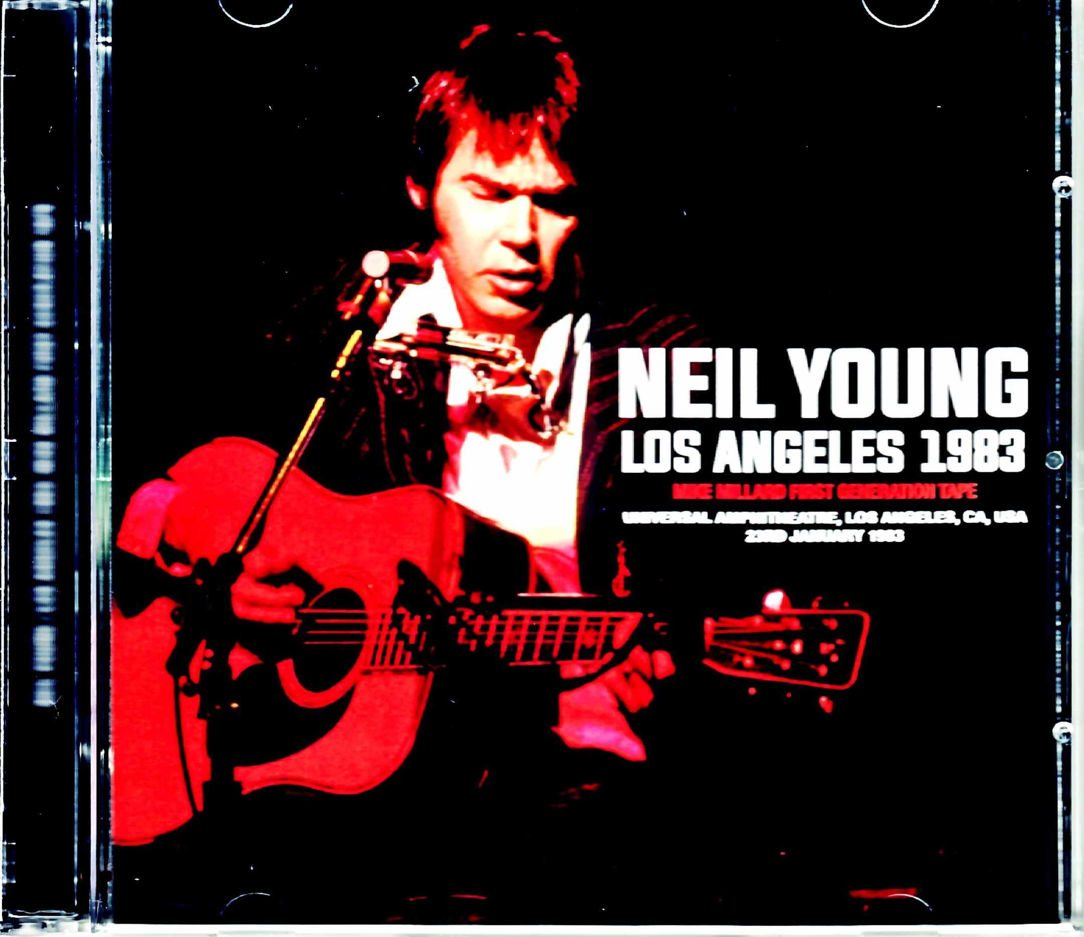 Neil Young ニール・ヤング/CA,USA 1983 Mike Millard Tape Another Version