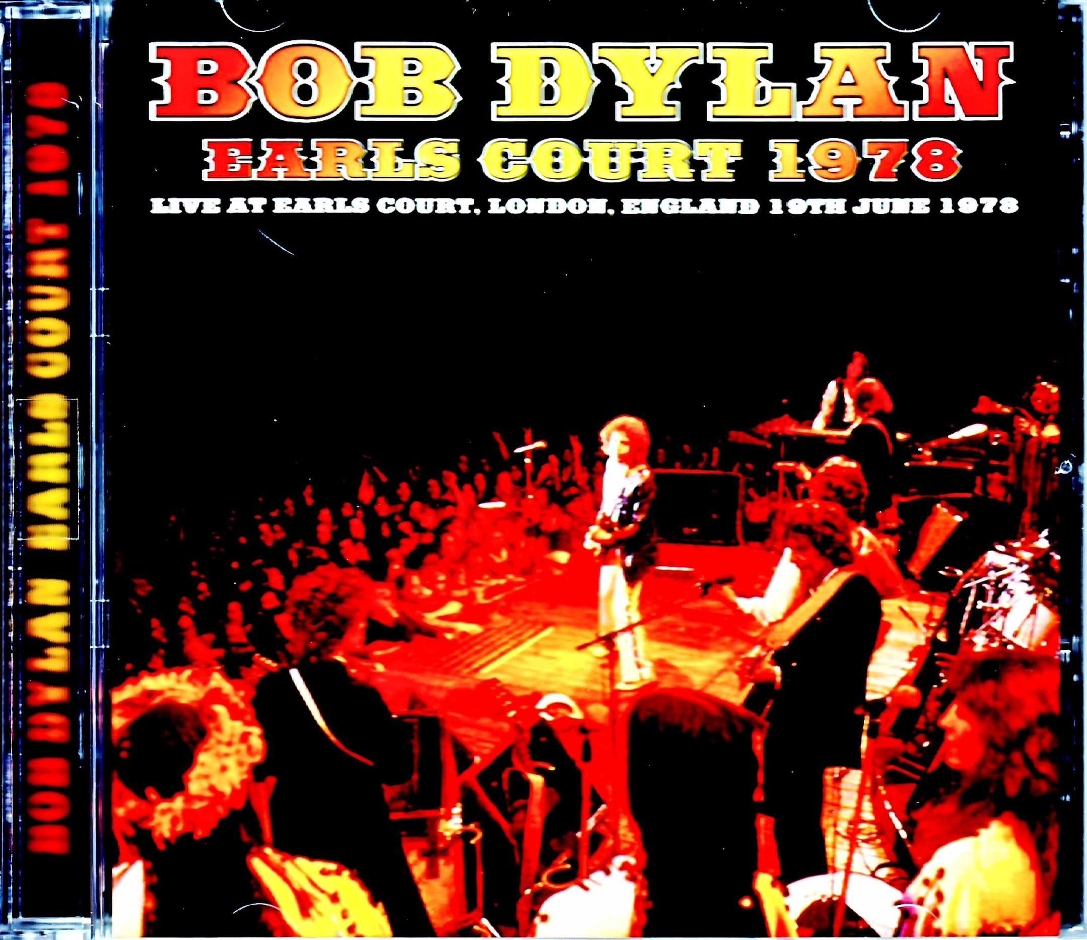 Bob Dylan ボブ・ディラン/London,UK 7.19.1978