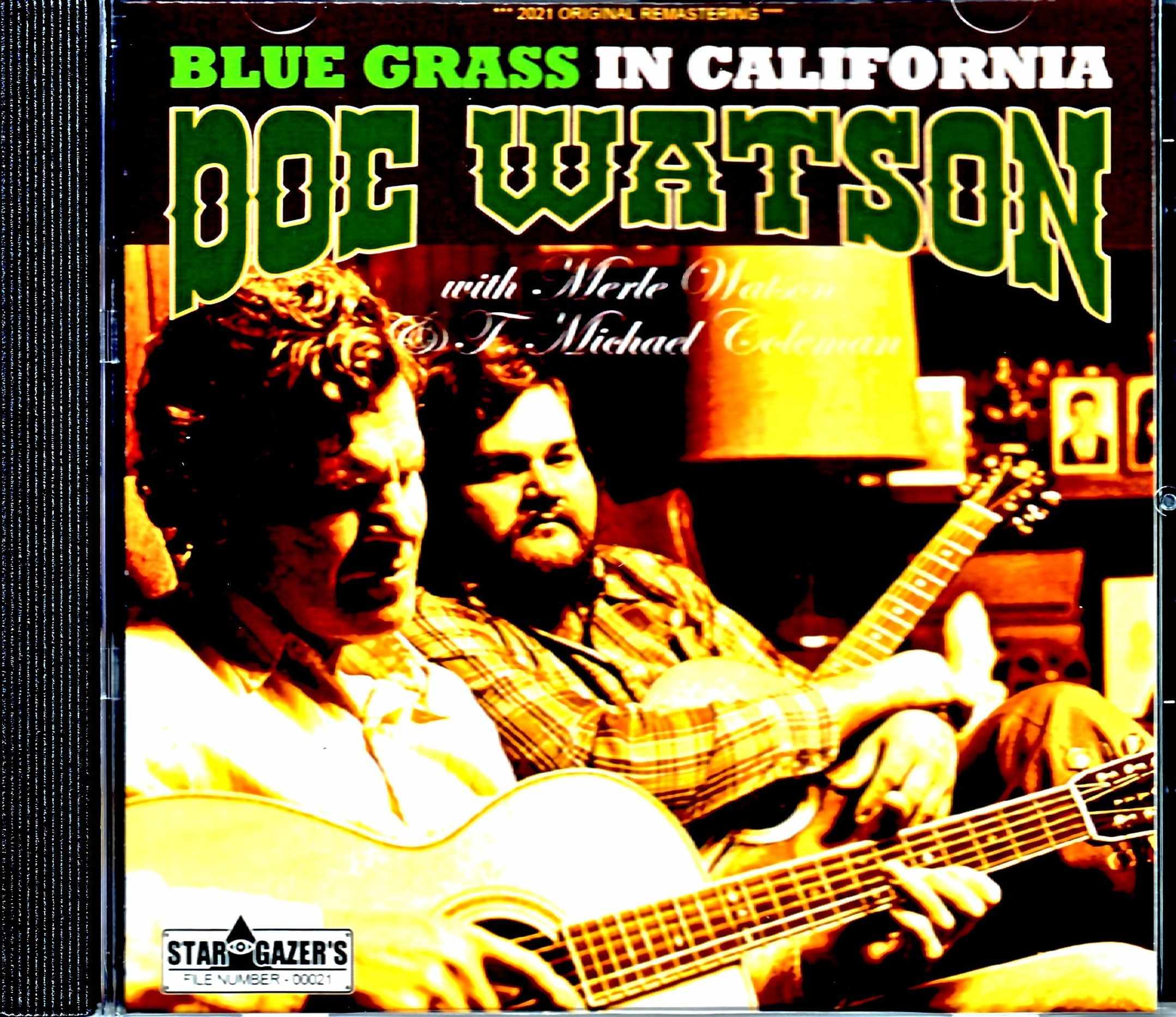 Dog Watoson,T. Michael Coleman ドグ・ワトソン/CA,USA 1982