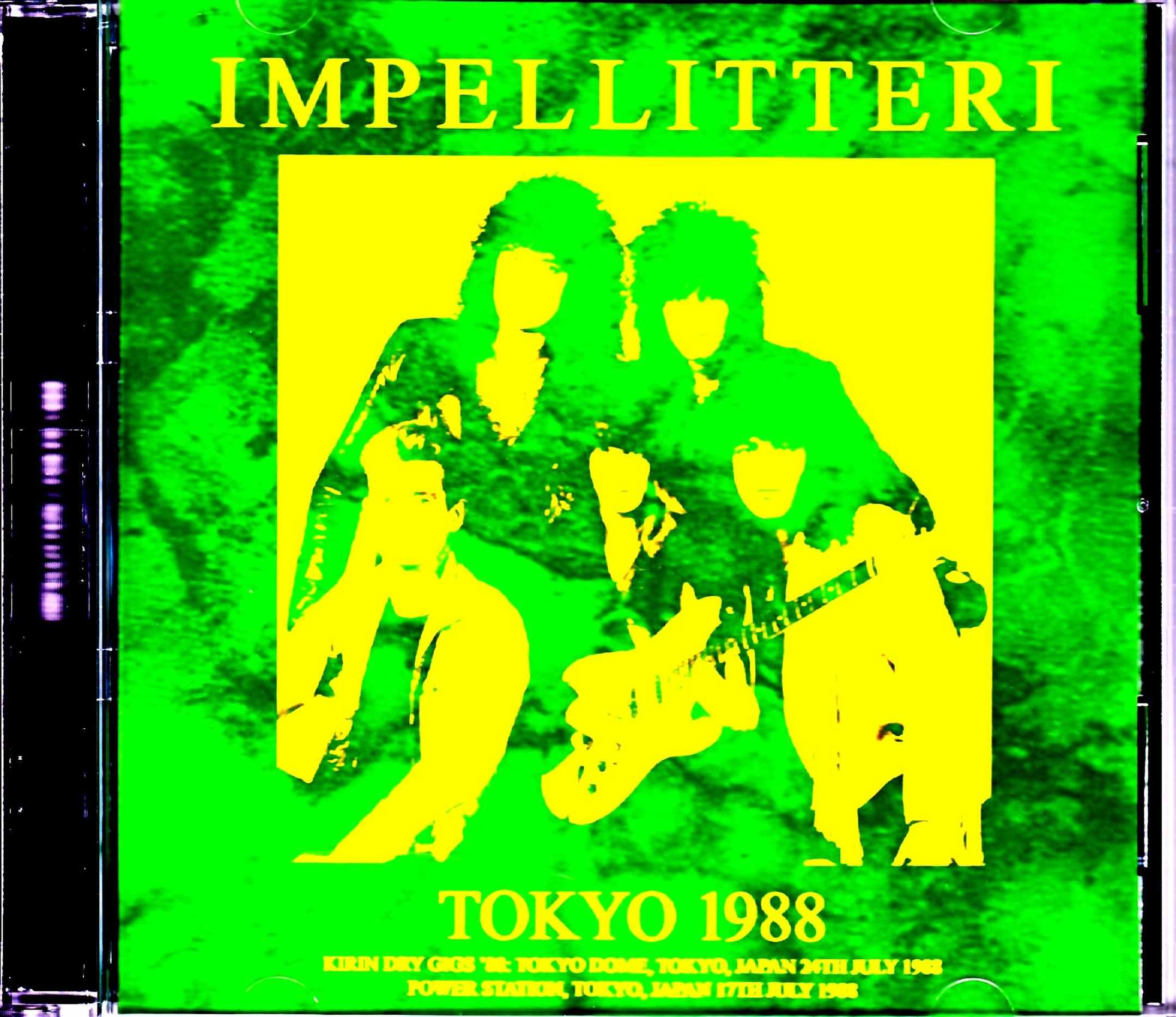 Impellitteri インペリテリ/Tokyo,Japan 1988 S & V Complete